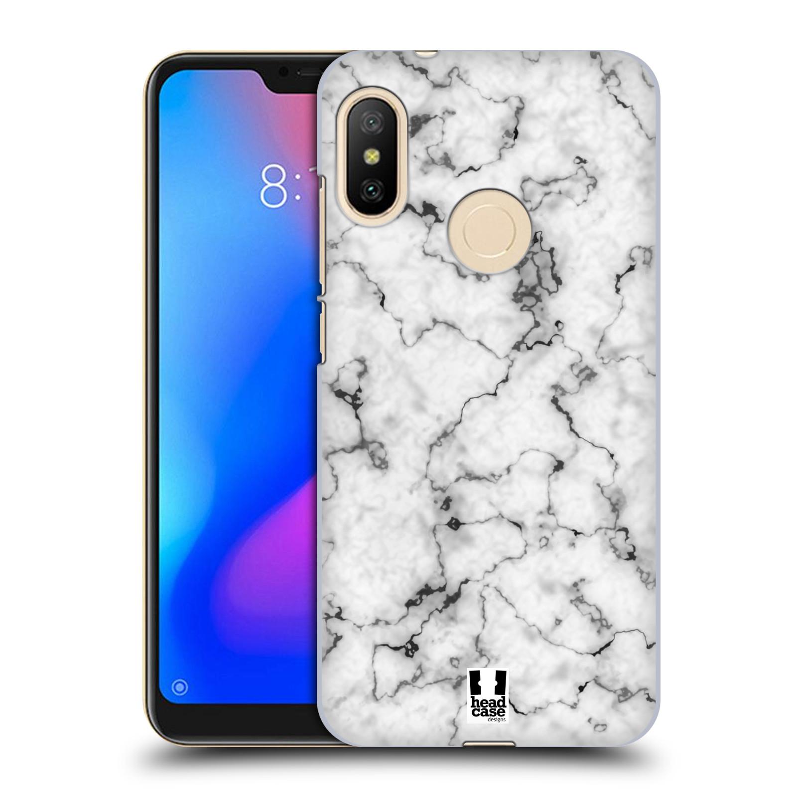 Plastové pouzdro na mobil Xiaomi Mi A2 Lite - Head Case - Bílý mramor