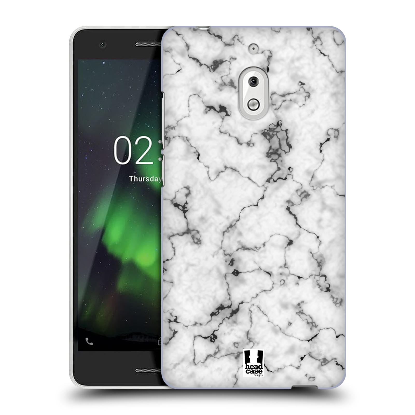 Plastové pouzdro na mobil Nokia 2.1 - Head Case - Bílý mramor