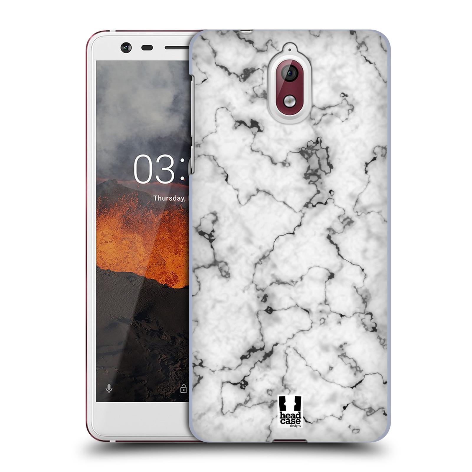 Plastové pouzdro na mobil Nokia 3.1 - Head Case - Bílý mramor