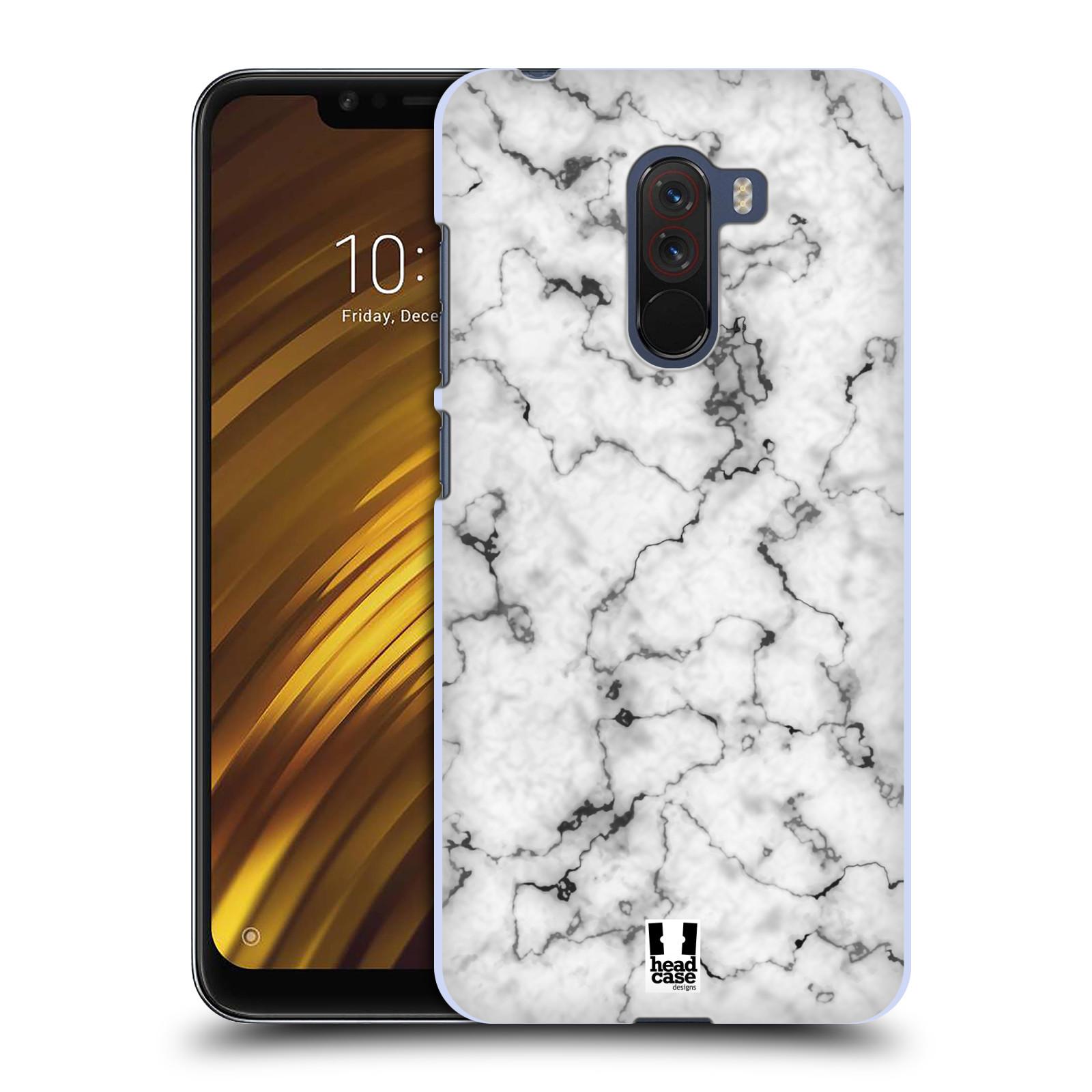 Plastové pouzdro na mobil Xiaomi Pocophone F1 - Head Case - Bílý mramor