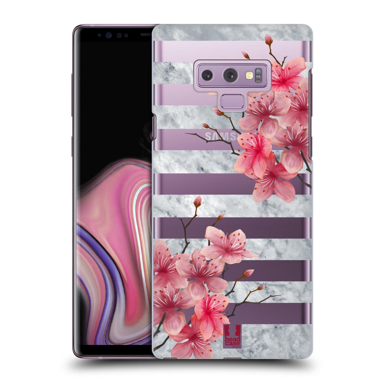 Plastové pouzdro na mobil Samsung Galaxy Note 9 - Head Case - Kvítka a mramor