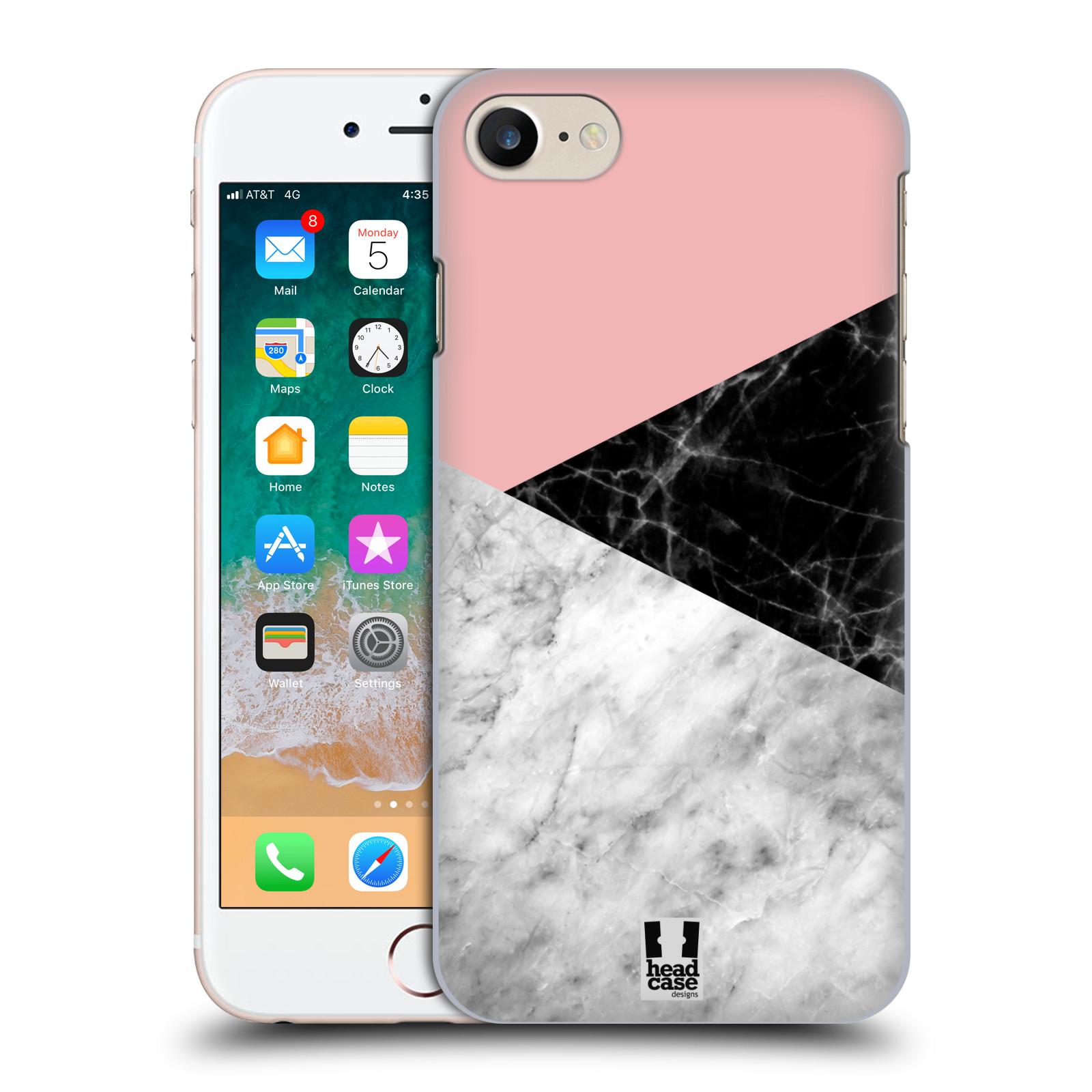 Plastové pouzdro na mobil Apple iPhone SE (2020) - Head Case - Mramor mix