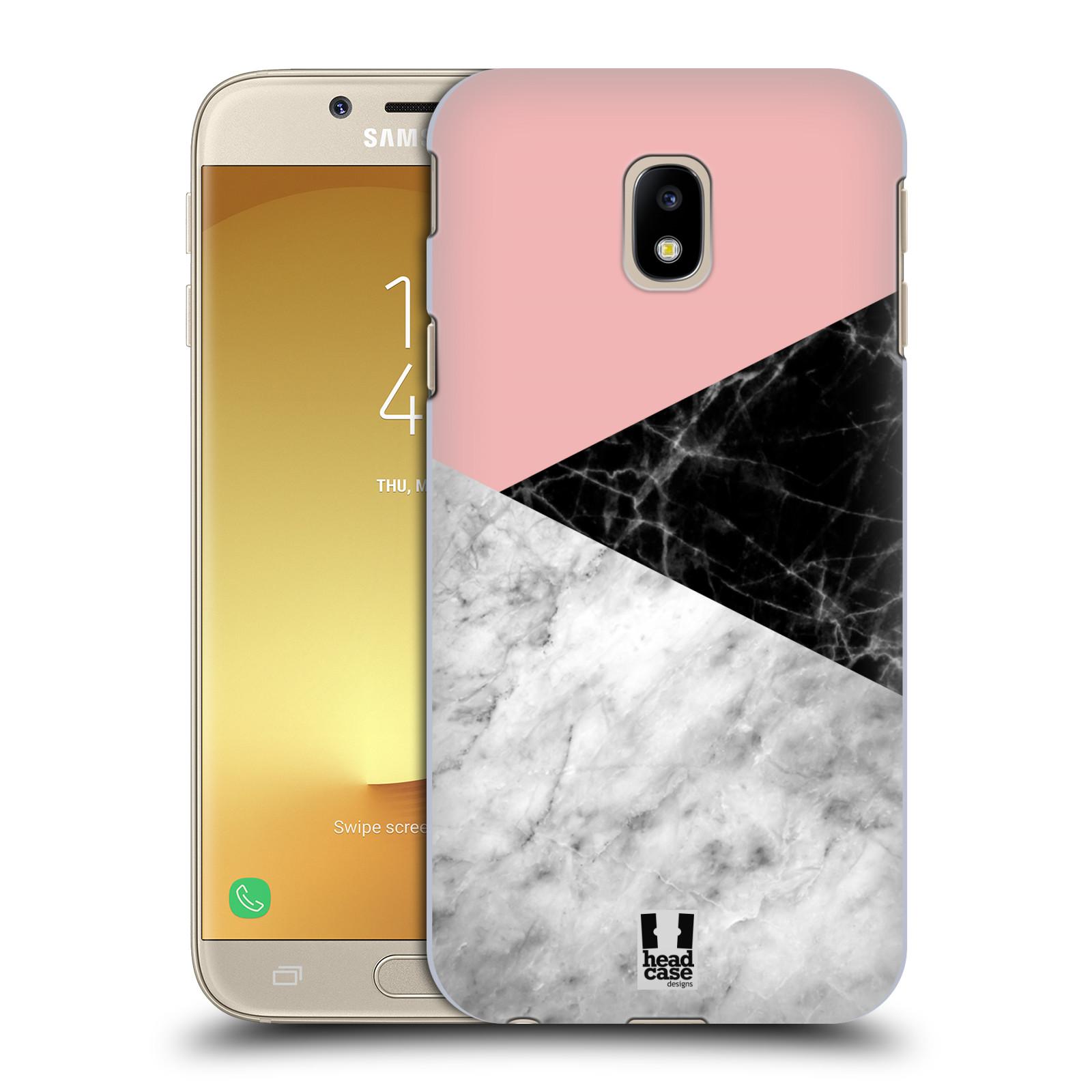Plastové pouzdro na mobil Samsung Galaxy J3 (2017) - Head Case - Mramor mix