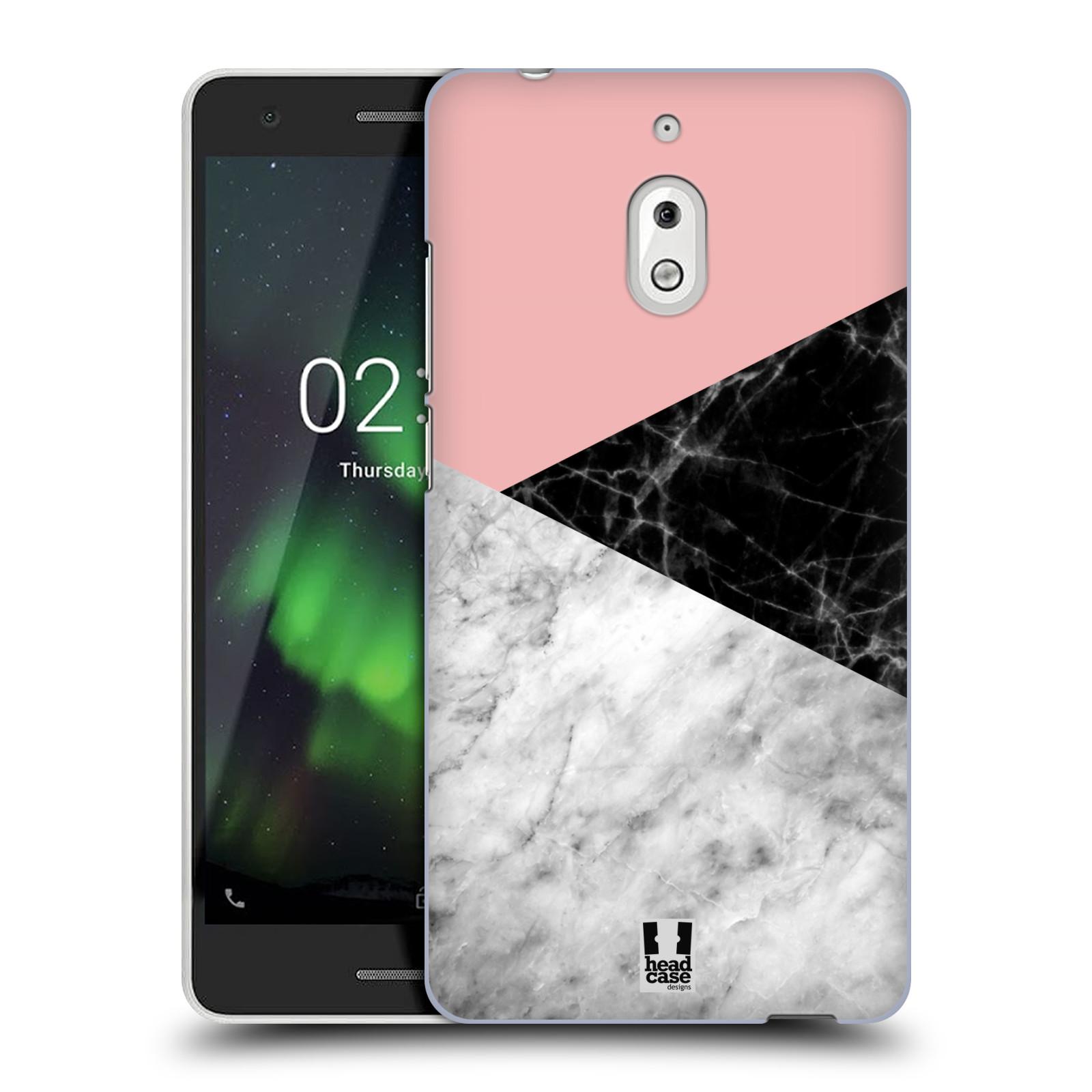 Plastové pouzdro na mobil Nokia 2.1 - Head Case - Mramor mix