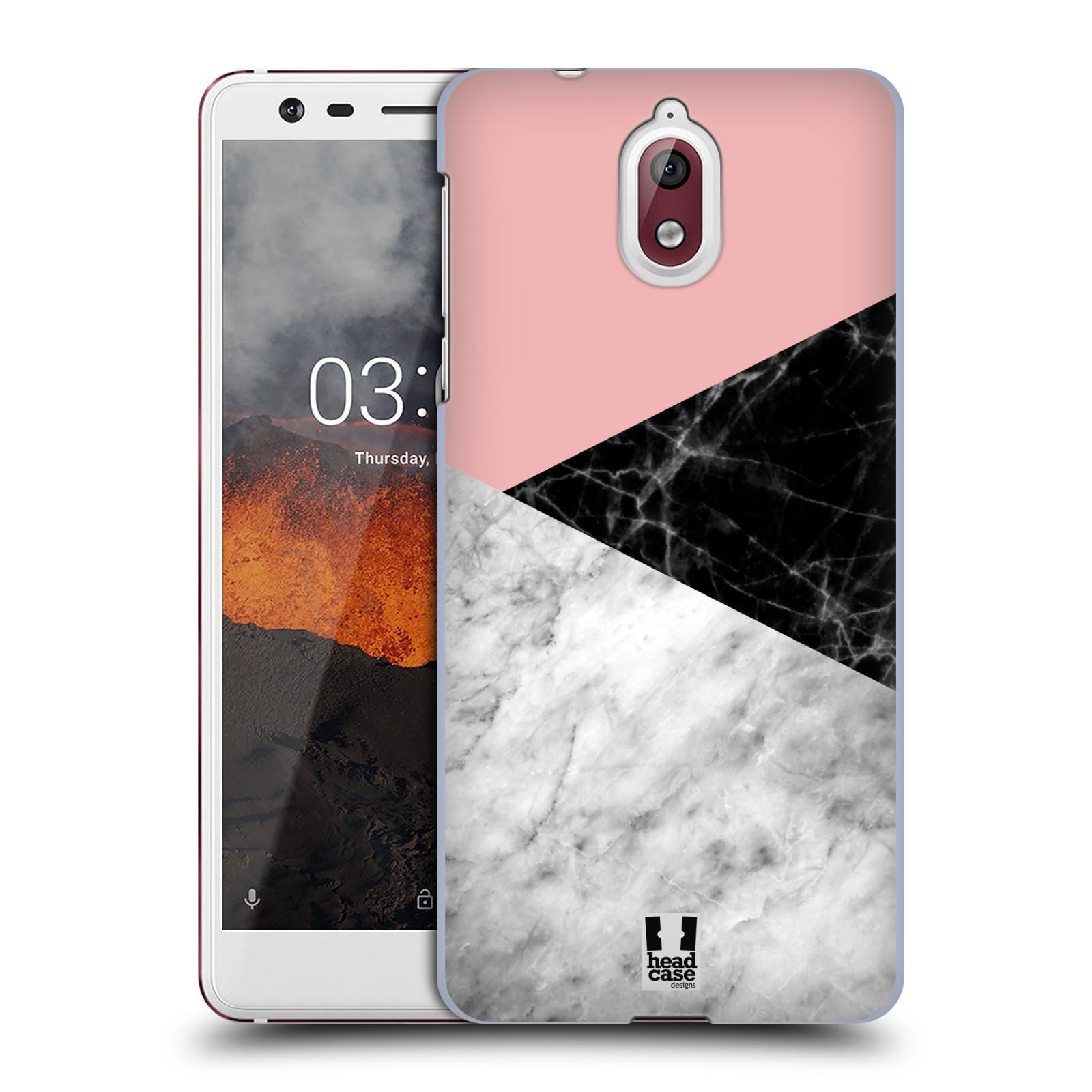 Plastové pouzdro na mobil Nokia 3.1 - Head Case - Mramor mix