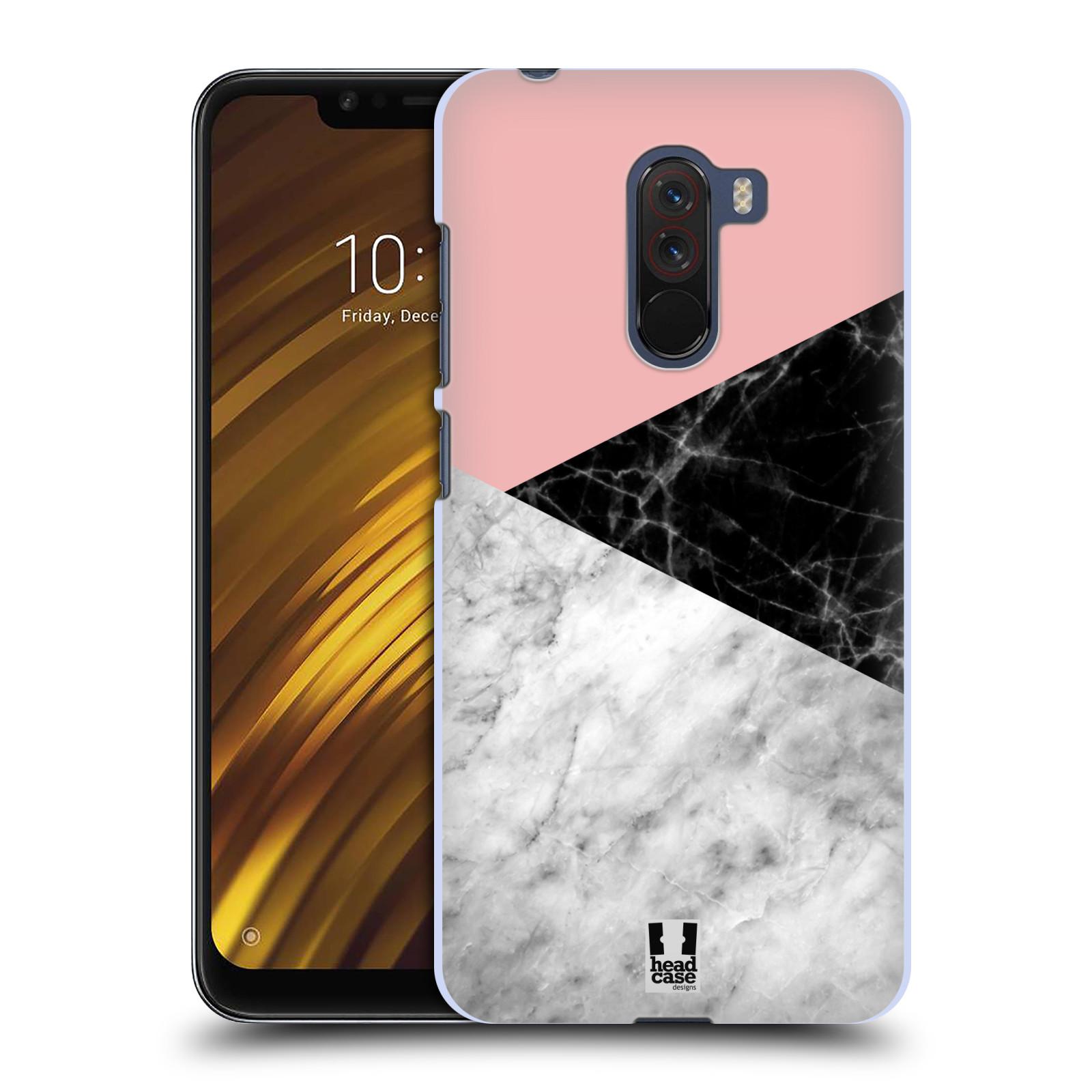 Plastové pouzdro na mobil Xiaomi Pocophone F1 - Head Case - Mramor mix