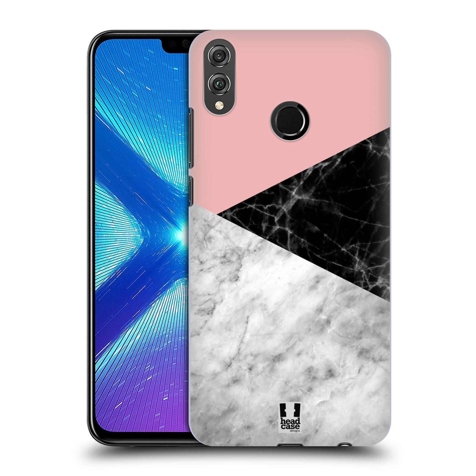 Plastové pouzdro na mobil Honor 8X - Head Case - Mramor mix
