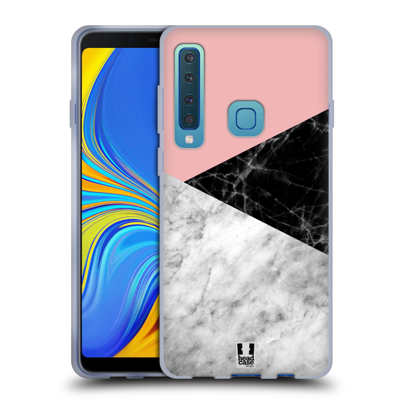 Silikonové pouzdro na mobil Samsung Galaxy A9 (2018) - Head Case - Mramor mix