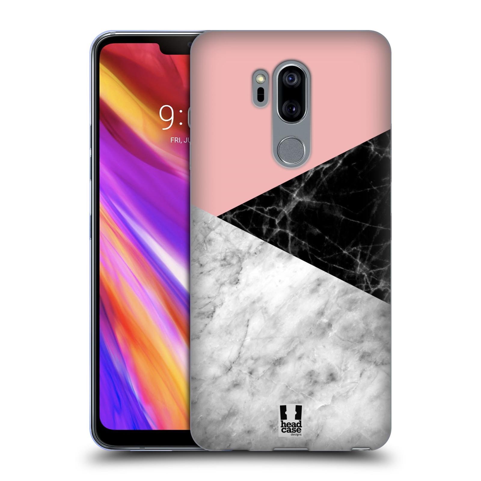 Silikonové pouzdro na mobil LG G7 ThinQ - Head Case - Mramor mix