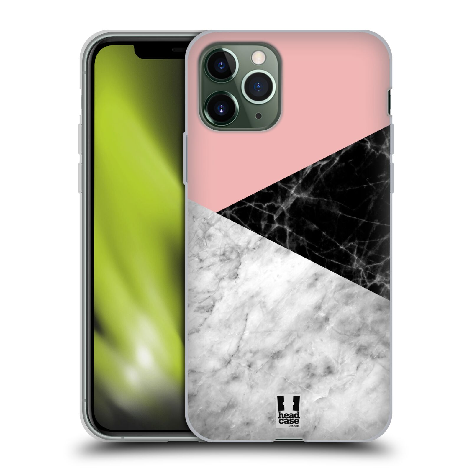 lagerfeld obaly iphone 6s plus - Silikonové pouzdro na mobil Apple iPhone 11 Pro - Head Case - Mramor mix