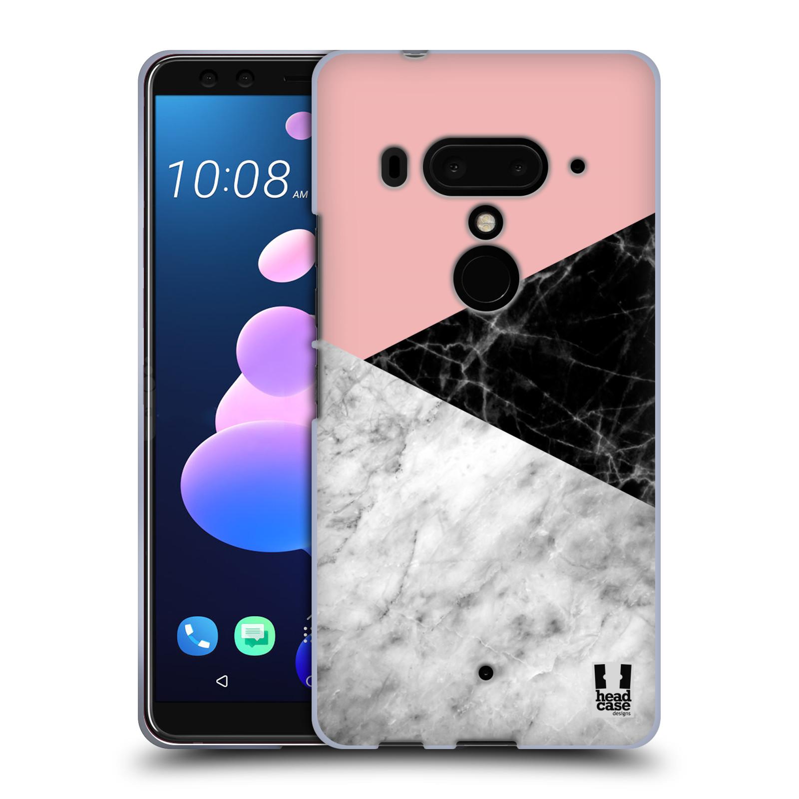 Silikonové pouzdro na mobil HTC U12 Plus - Head Case - Mramor mix