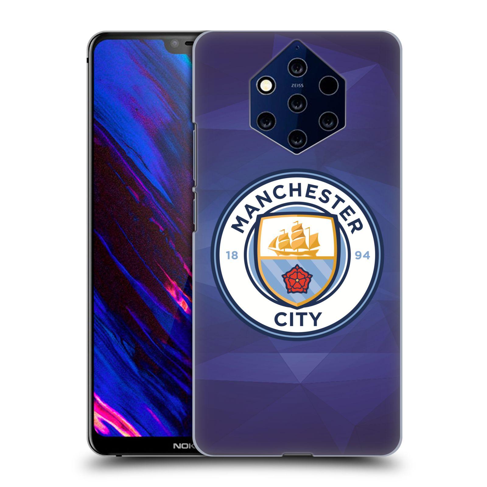 Plastové pouzdro na mobil Nokia 9 PureView - Head Case - Manchester City FC - Modré nové logo