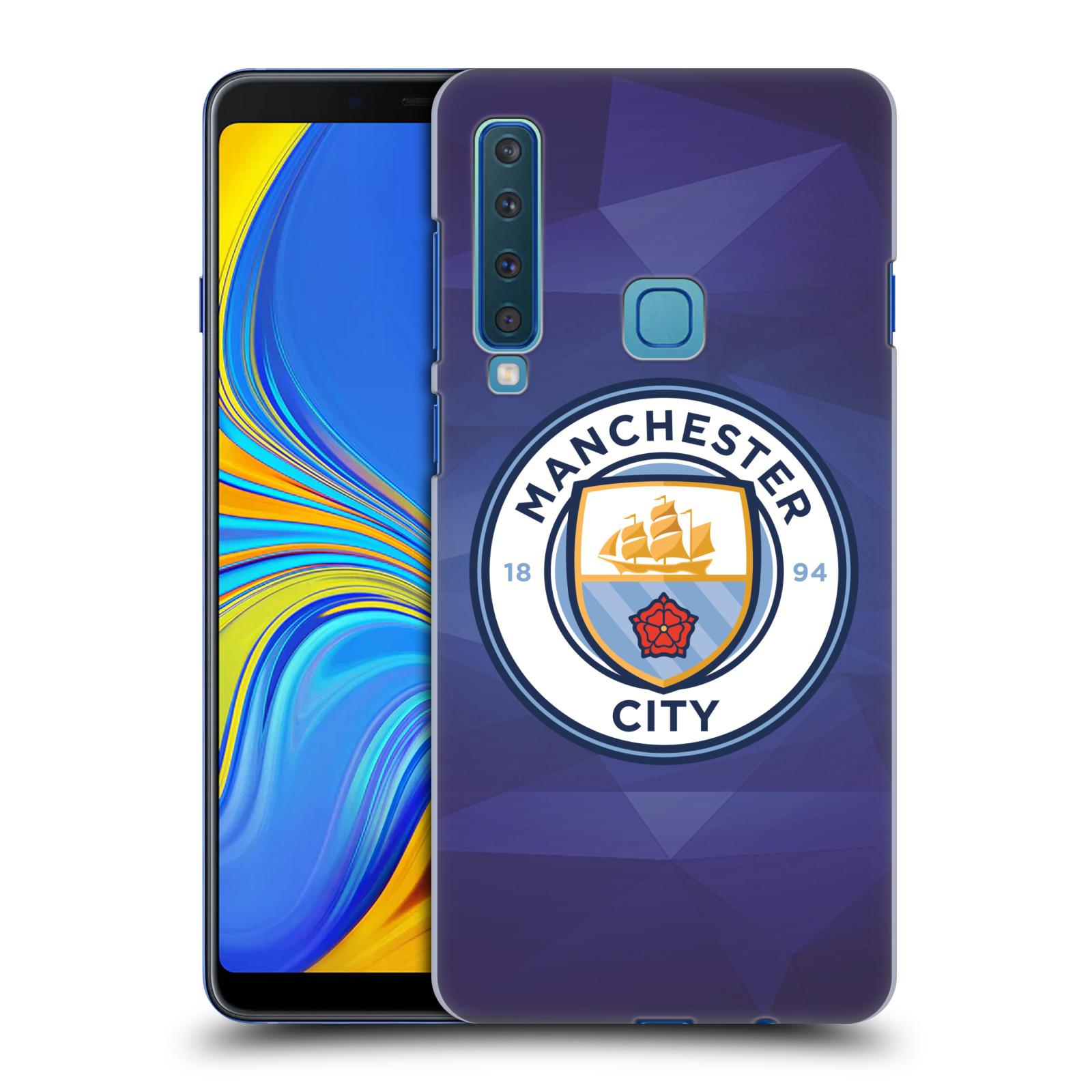 Plastové pouzdro na mobil Samsung Galaxy A9 (2018) - Head Case - Manchester City FC - Modré nové logo