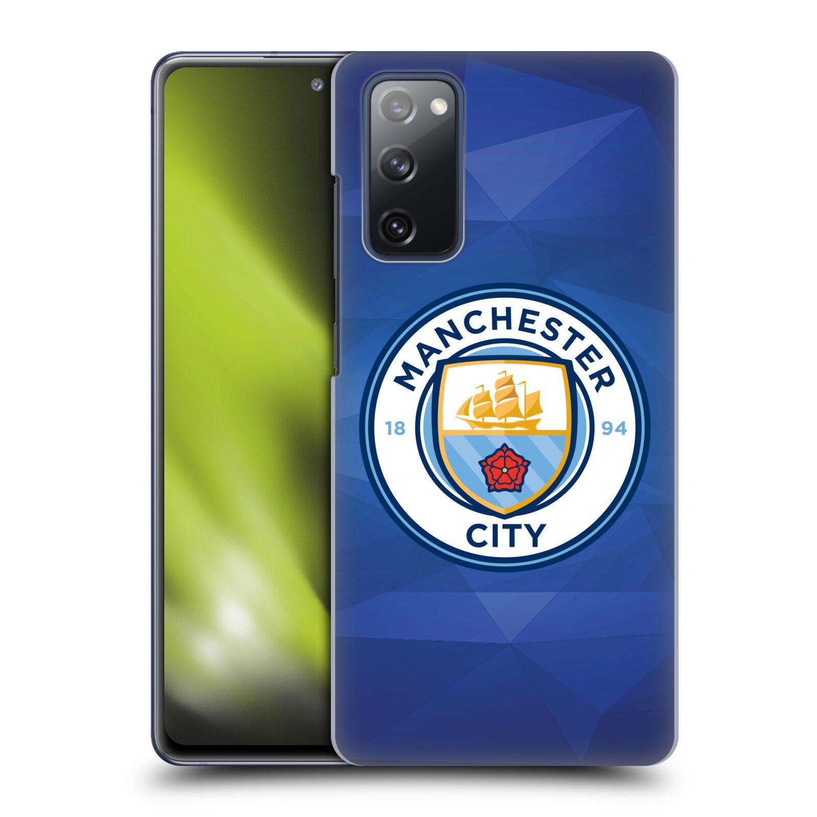 Plastové pouzdro na mobil Samsung Galaxy S20 FE - Head Case - Manchester City FC - Modré nové logo