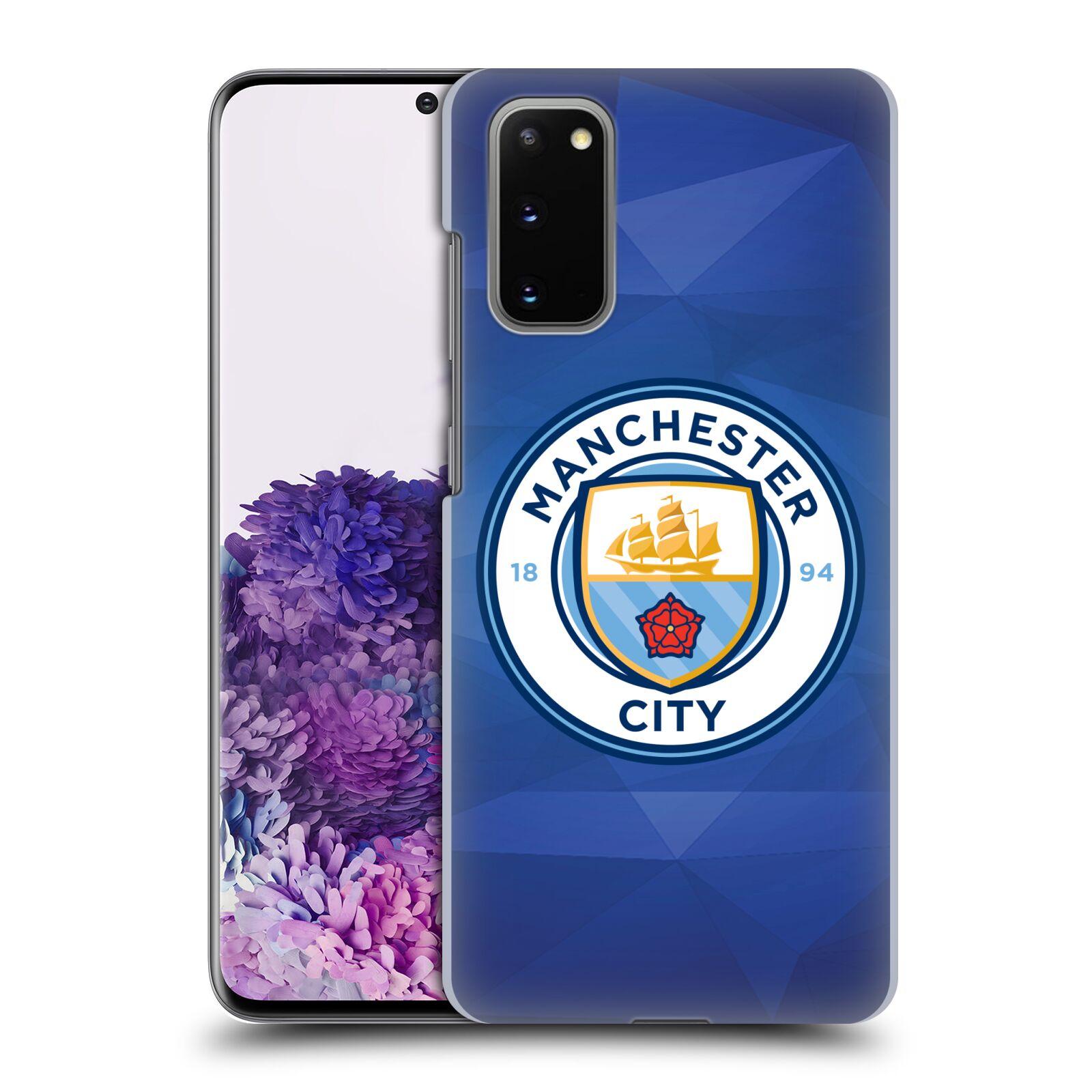 Plastové pouzdro na mobil Samsung Galaxy S20 - Head Case - Manchester City FC - Modré nové logo