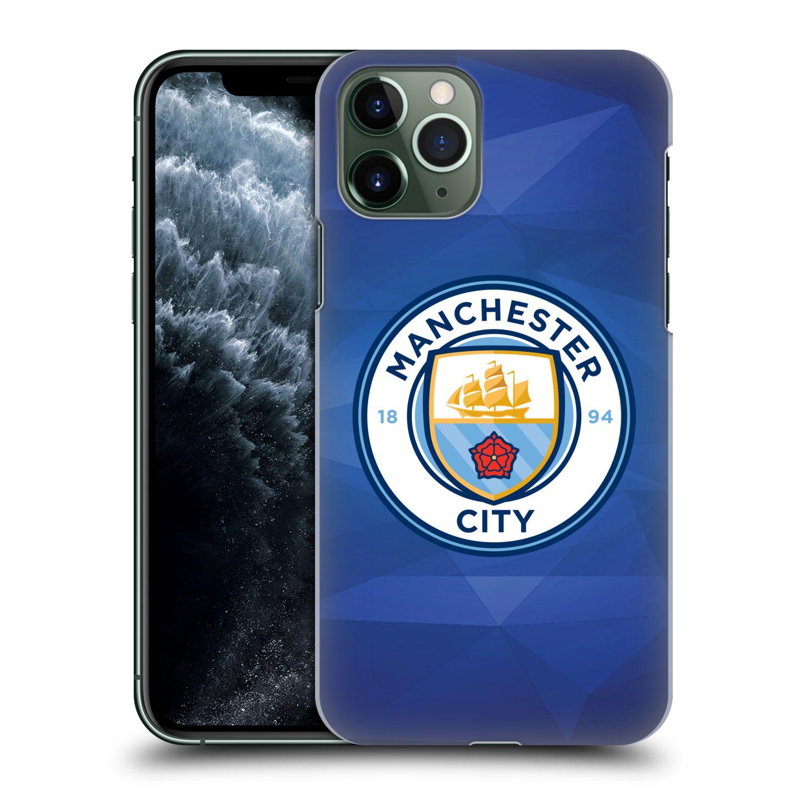Plastové pouzdro na mobil Apple iPhone 11 Pro - Head Case - Manchester City FC - Modré nové logo
