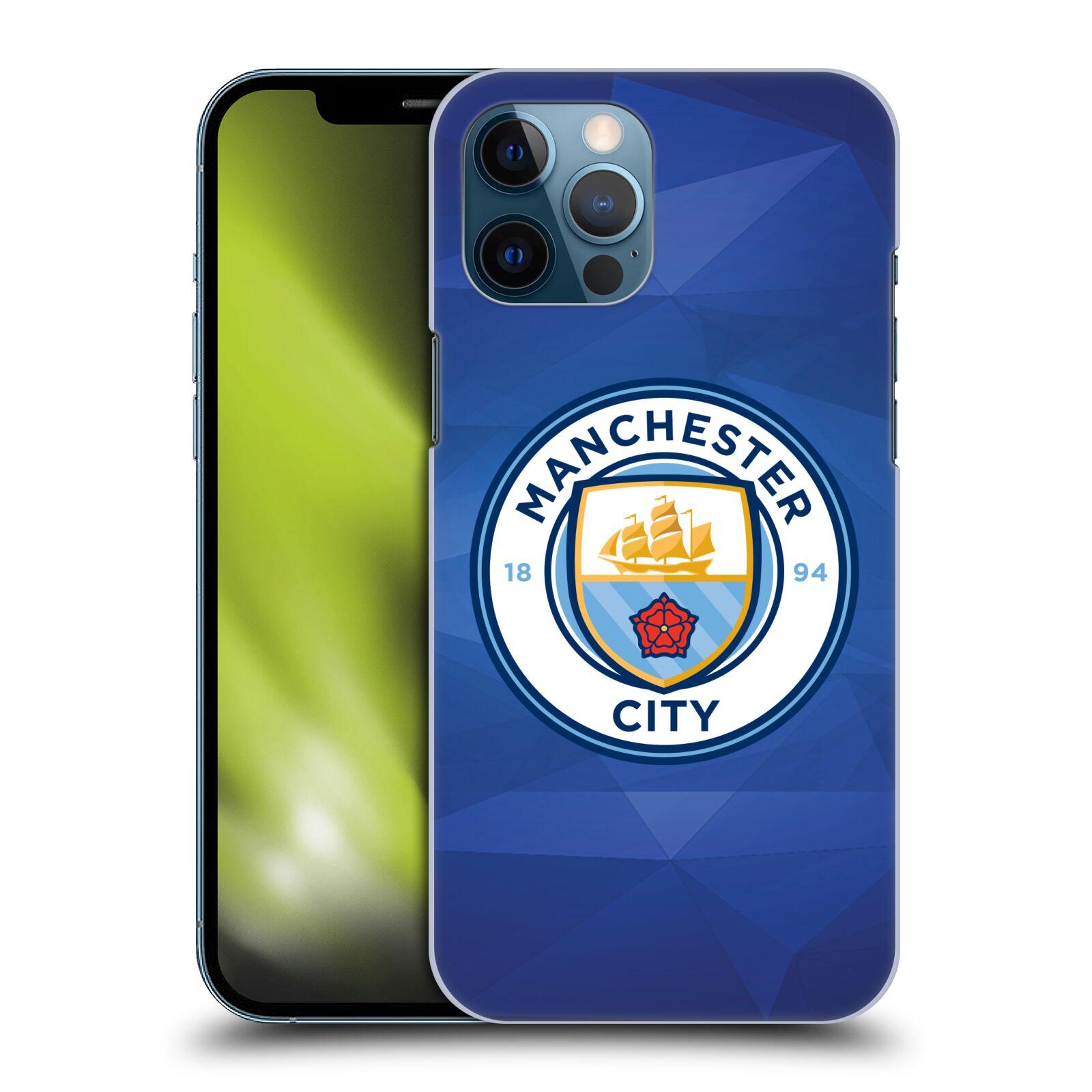 Plastové pouzdro na mobil Apple iPhone 12 Pro Max - Head Case - Manchester City FC - Modré nové logo