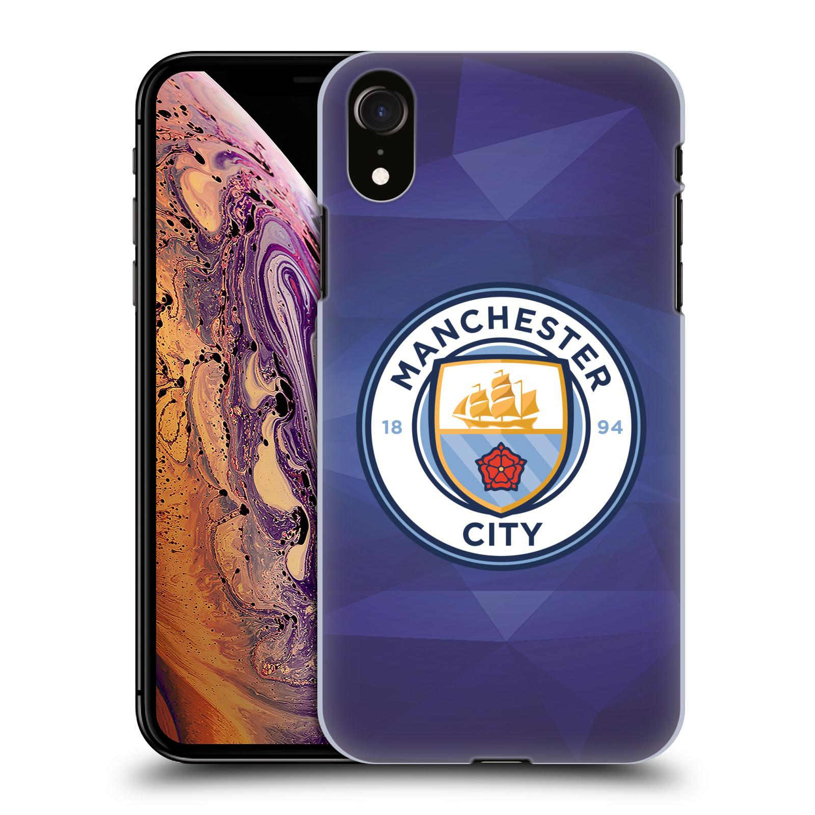 Plastové pouzdro na mobil Apple iPhone XR - Head Case - Manchester City FC - Modré nové logo
