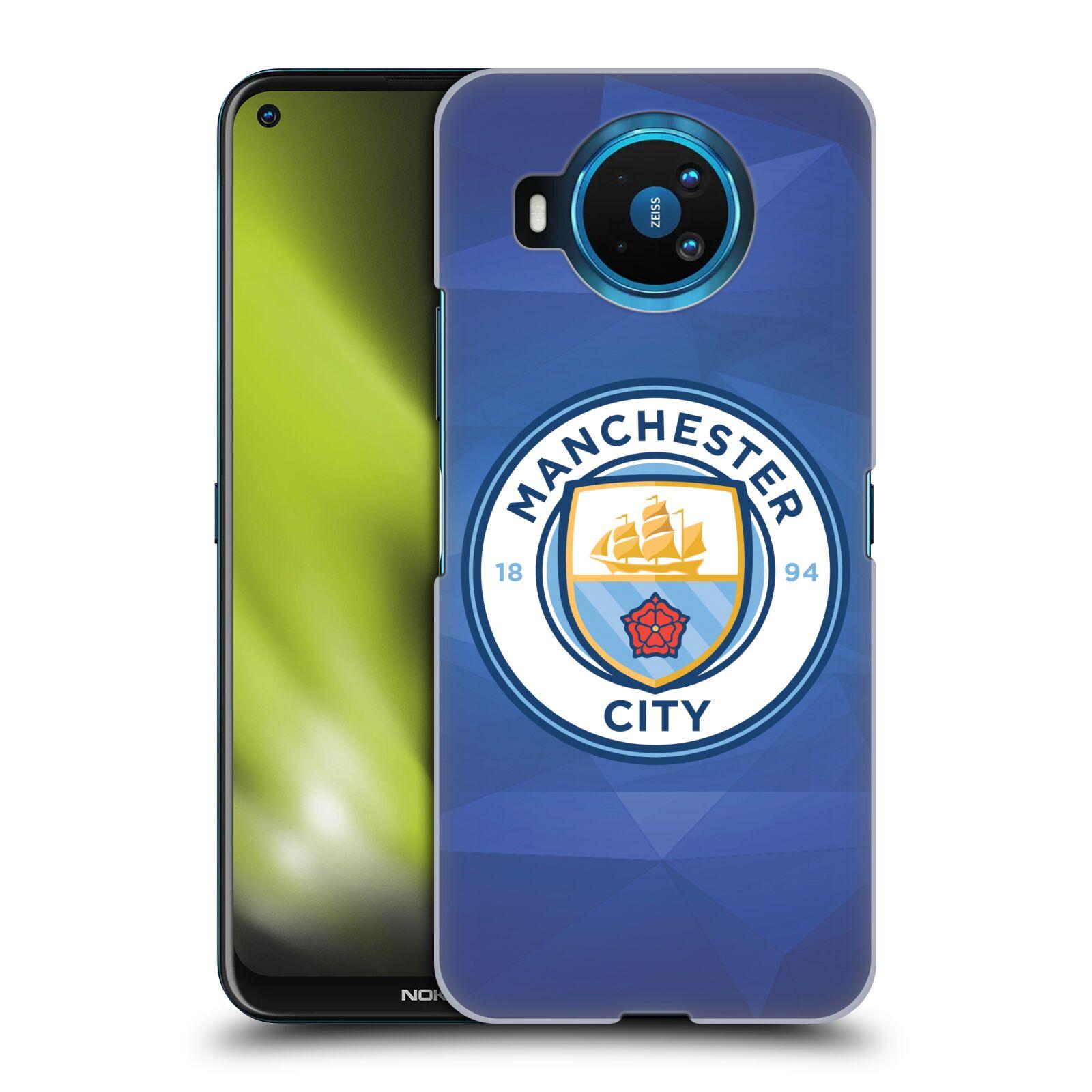 Plastové pouzdro na mobil Nokia 8.3 5G - Head Case - Manchester City FC - Modré nové logo