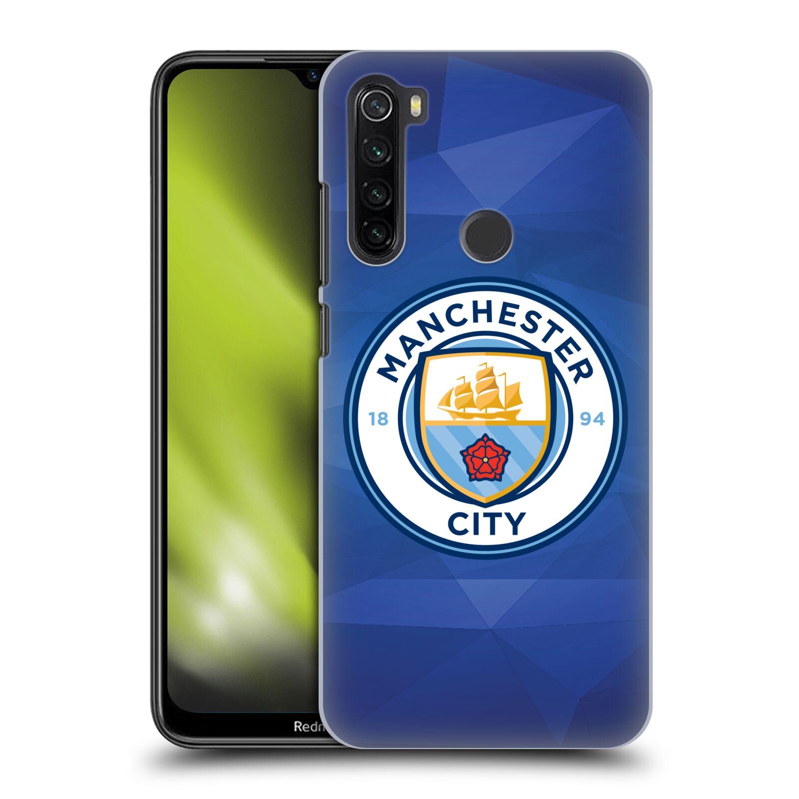 Plastové pouzdro na mobil Xiaomi Redmi Note 8T - Head Case - Manchester City FC - Modré nové logo