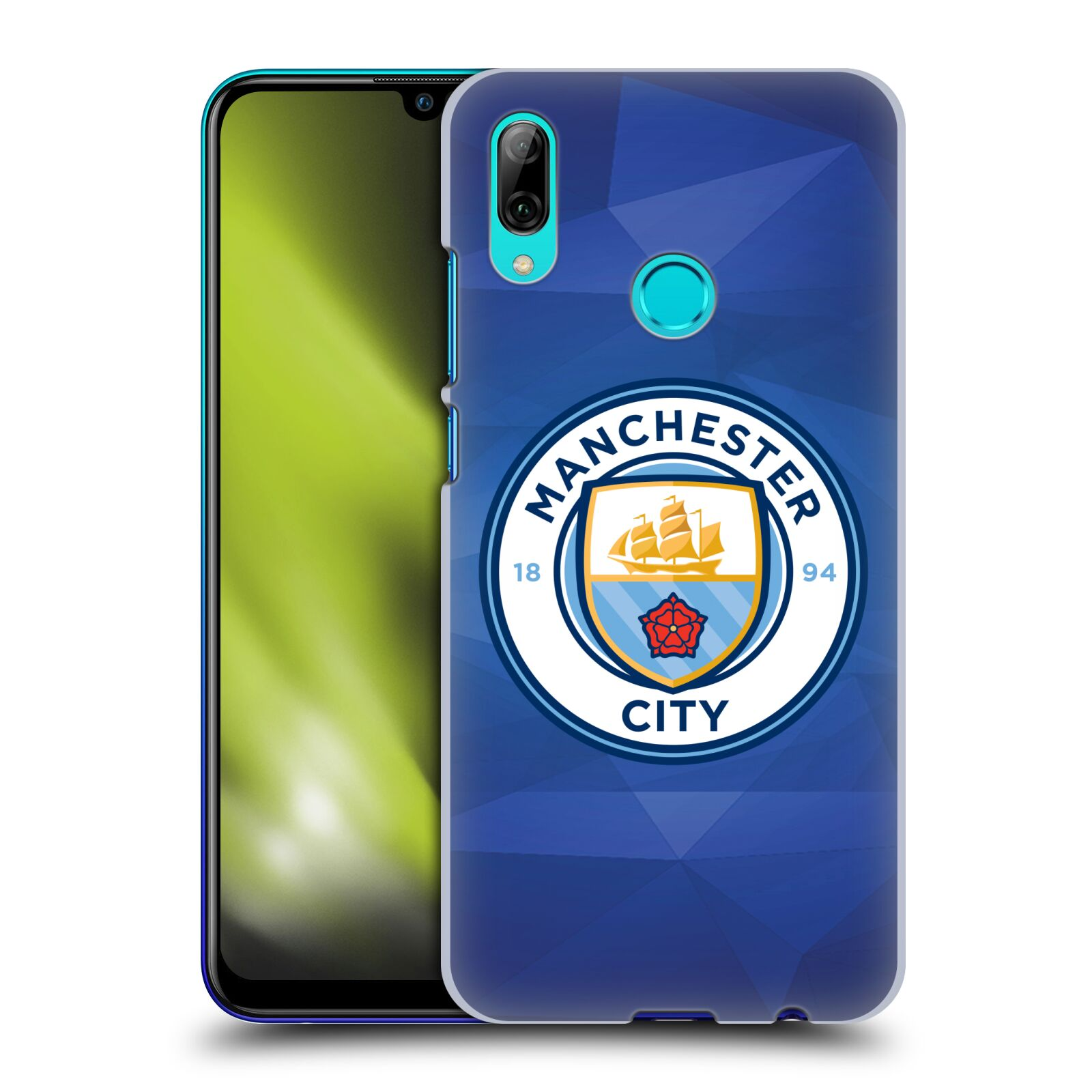 Plastové pouzdro na mobil Huawei P Smart (2019) - Head Case - Manchester City FC - Modré nové logo