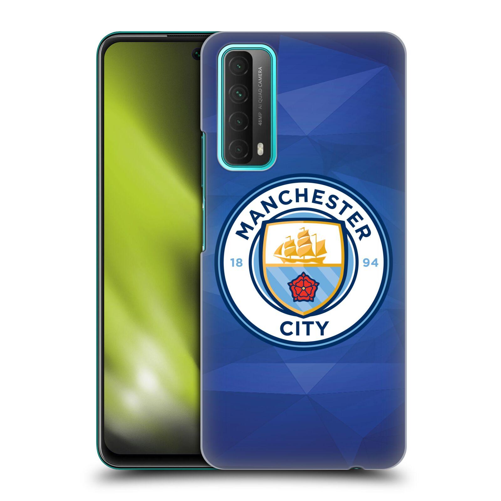 Plastové pouzdro na mobil Huawei P Smart (2021) - Head Case - Manchester City FC - Modré nové logo