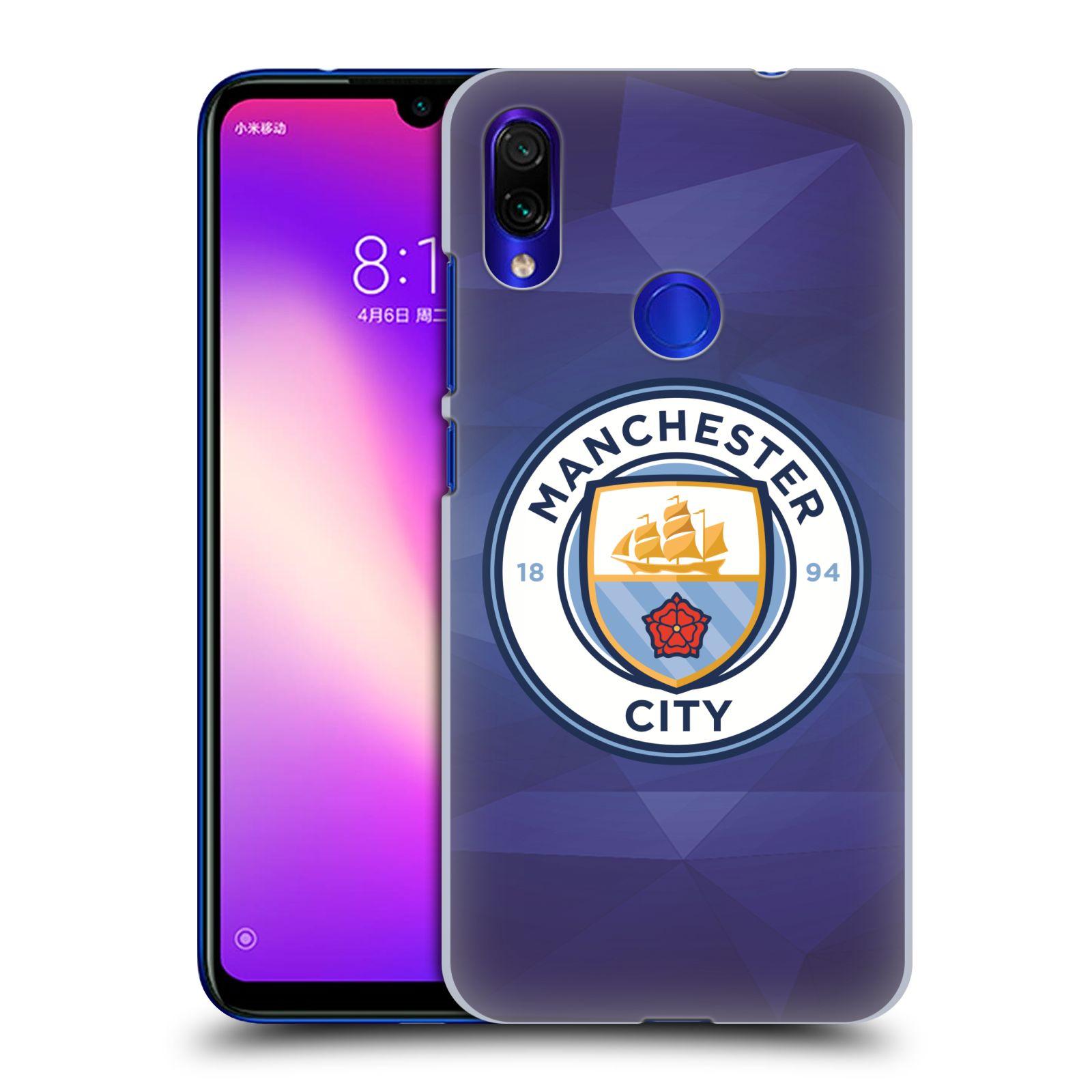 Plastové pouzdro na mobil Xiaomi Redmi Note 7 - Head Case - Manchester City FC - Modré nové logo