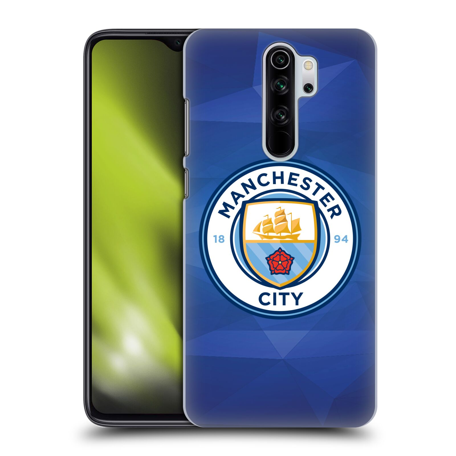 Plastové pouzdro na mobil Xiaomi Redmi Note 8 Pro - Head Case - Manchester City FC - Modré nové logo