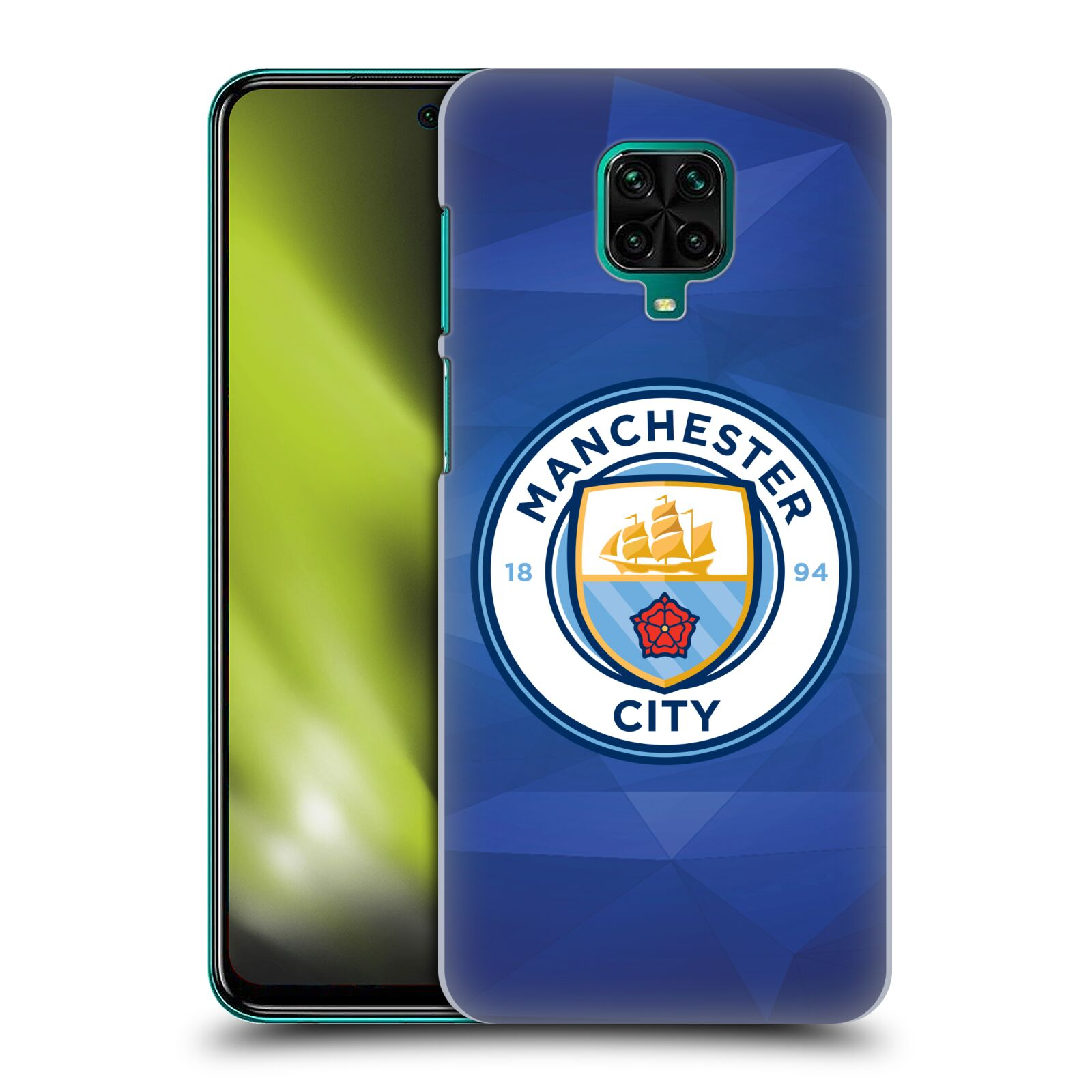 Plastové pouzdro na mobil Xiaomi Redmi Note 9 Pro - Head Case - Manchester City FC - Modré nové logo