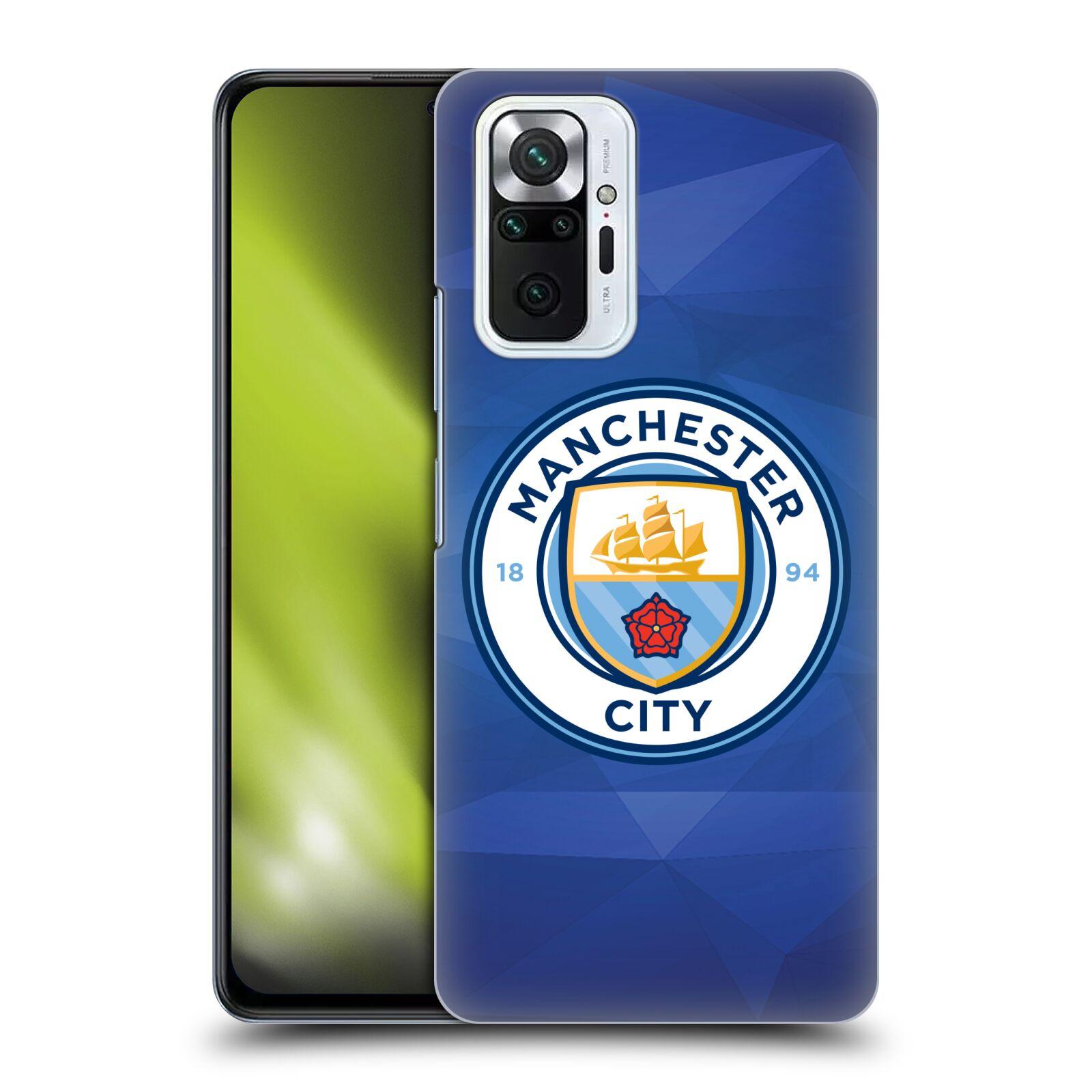 Plastové pouzdro na mobil Xiaomi Redmi Note 10 Pro - Head Case - Manchester City FC - Modré nové logo