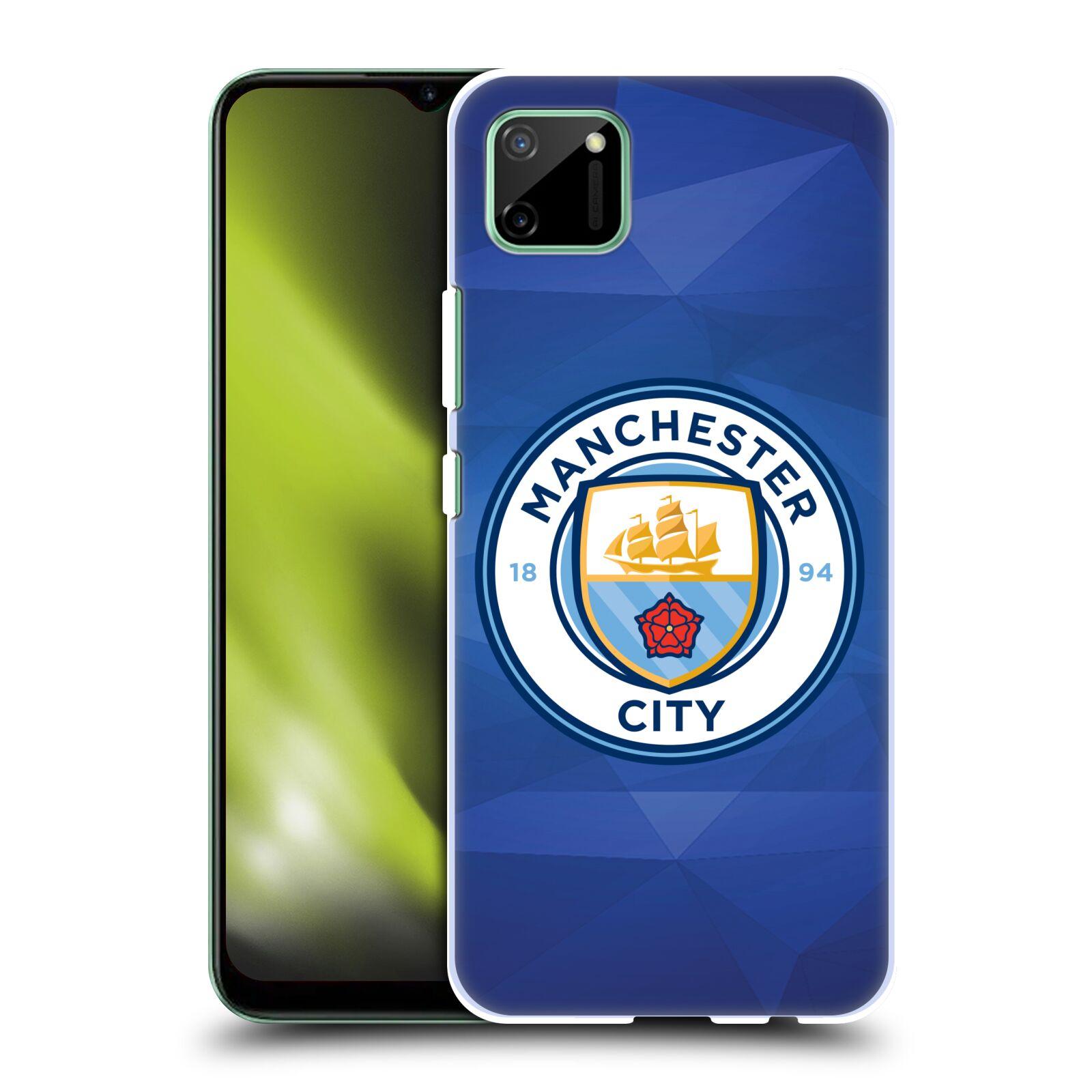 Plastové pouzdro na mobil Realme C11 - Head Case - Manchester City FC - Modré nové logo