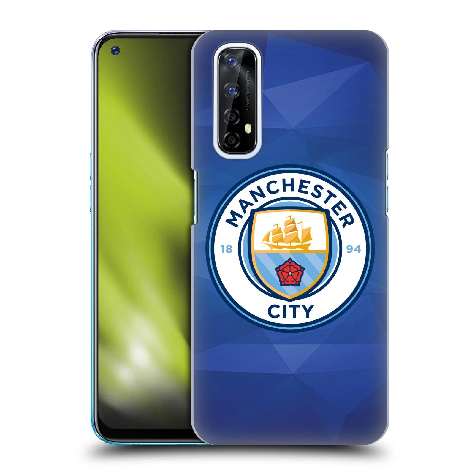 Plastové pouzdro na mobil Realme 7 - Head Case - Manchester City FC - Modré nové logo