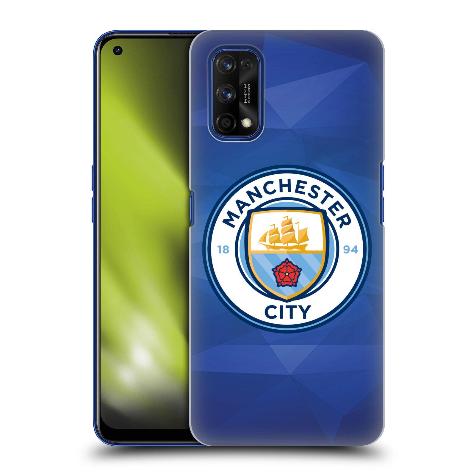 Plastové pouzdro na mobil Realme 7 Pro - Head Case - Manchester City FC - Modré nové logo