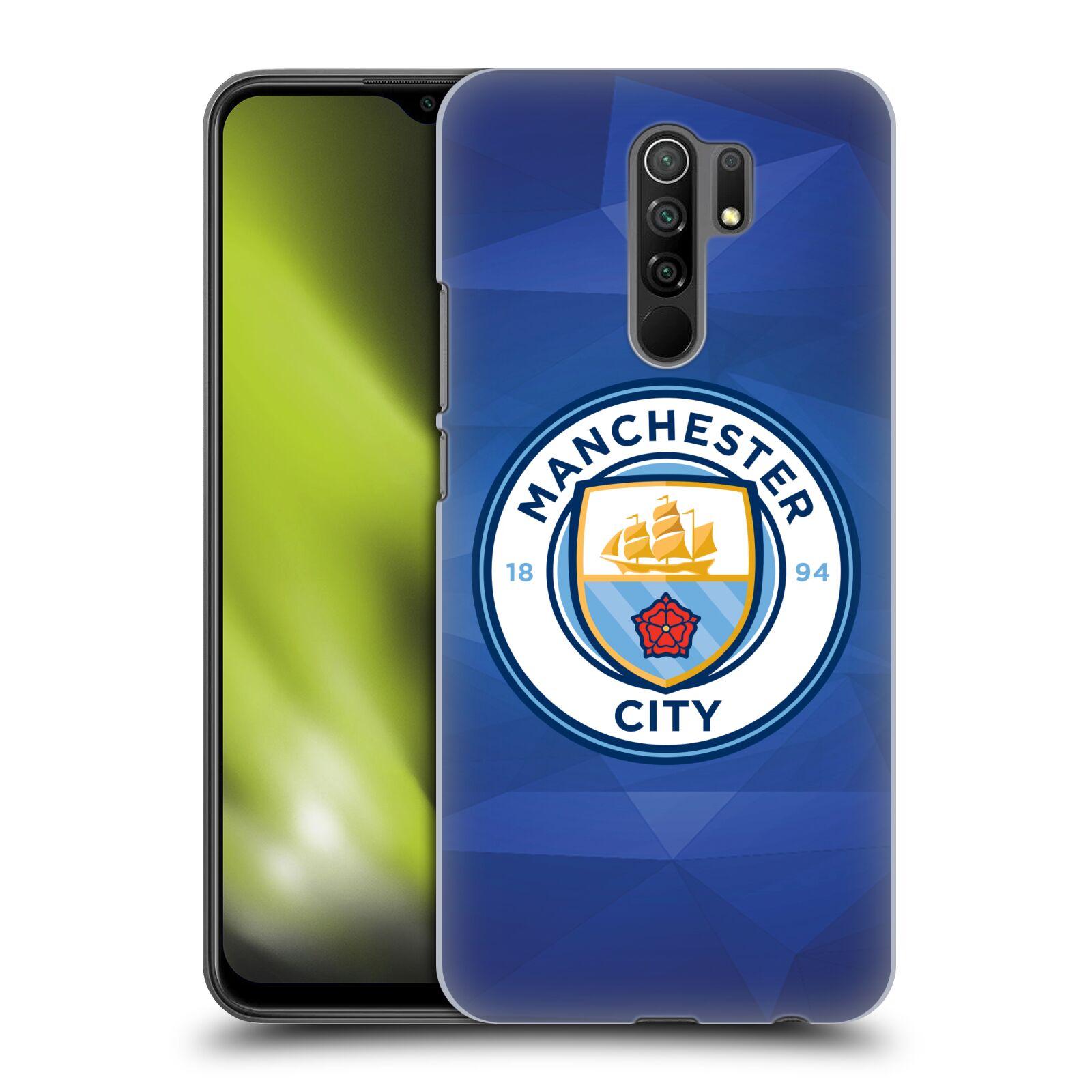 Plastové pouzdro na mobil Xiaomi Redmi 9 - Head Case - Manchester City FC - Modré nové logo