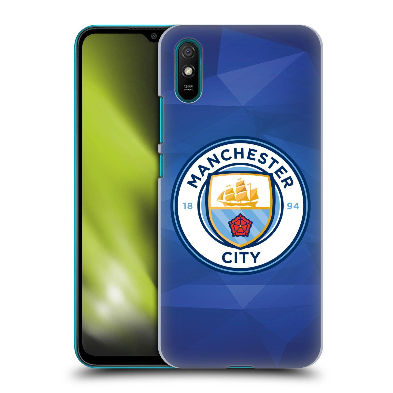 Plastové pouzdro na mobil Xiaomi Redmi 9A / Xiaomi Redmi 9AT - Head Case - Manchester City FC - Modré nové logo