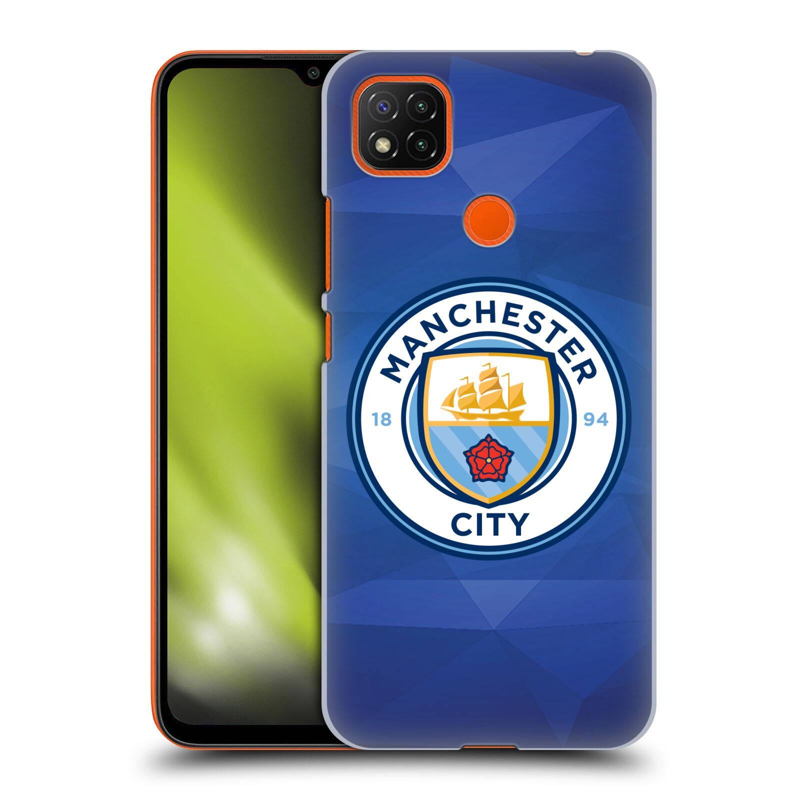 Plastové pouzdro na mobil Xiaomi Redmi 9C - Head Case - Manchester City FC - Modré nové logo