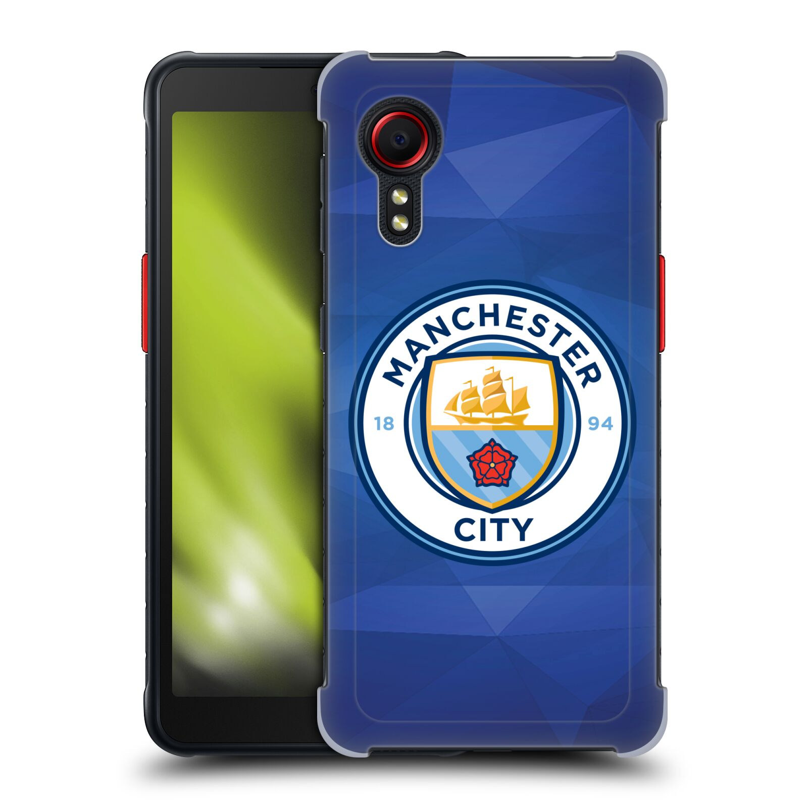 Plastové pouzdro na mobil Samsung Galaxy Xcover 5 - Head Case - Manchester City FC - Modré nové logo