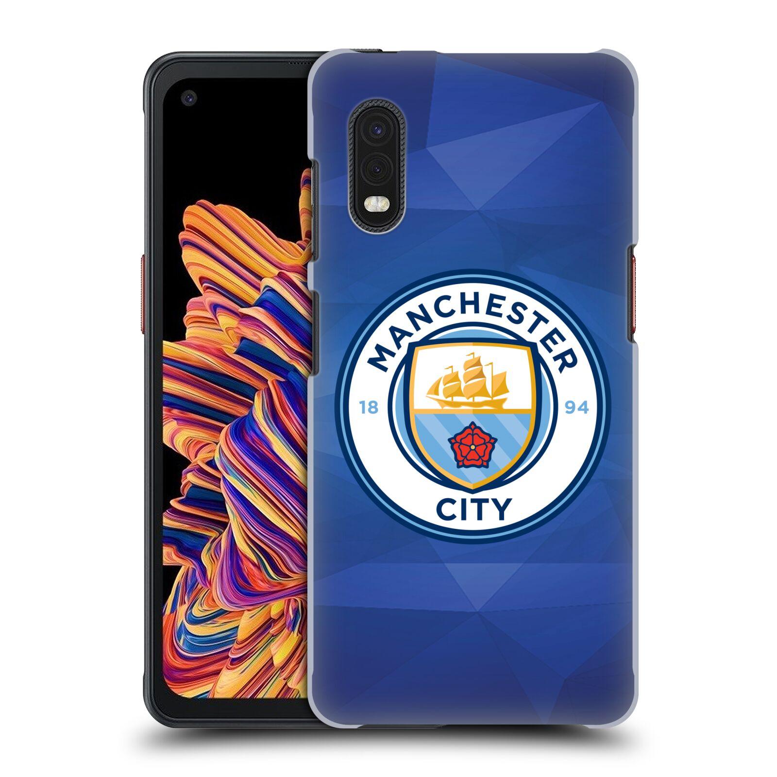 Plastové pouzdro na mobil Samsung Galaxy Xcover Pro - Head Case - Manchester City FC - Modré nové logo
