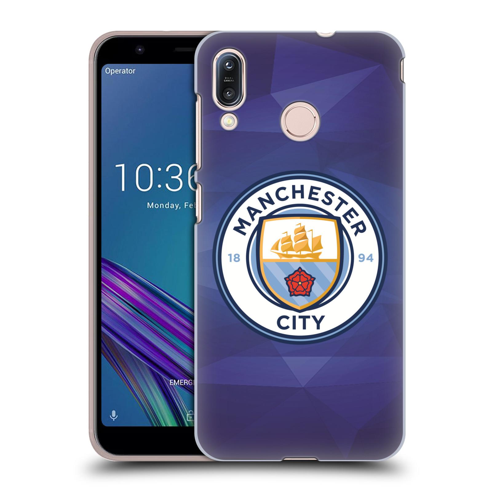 Plastové pouzdro na mobil Asus Zenfone Max M1 ZB555KL - Head Case - Manchester City FC - Modré nové logo