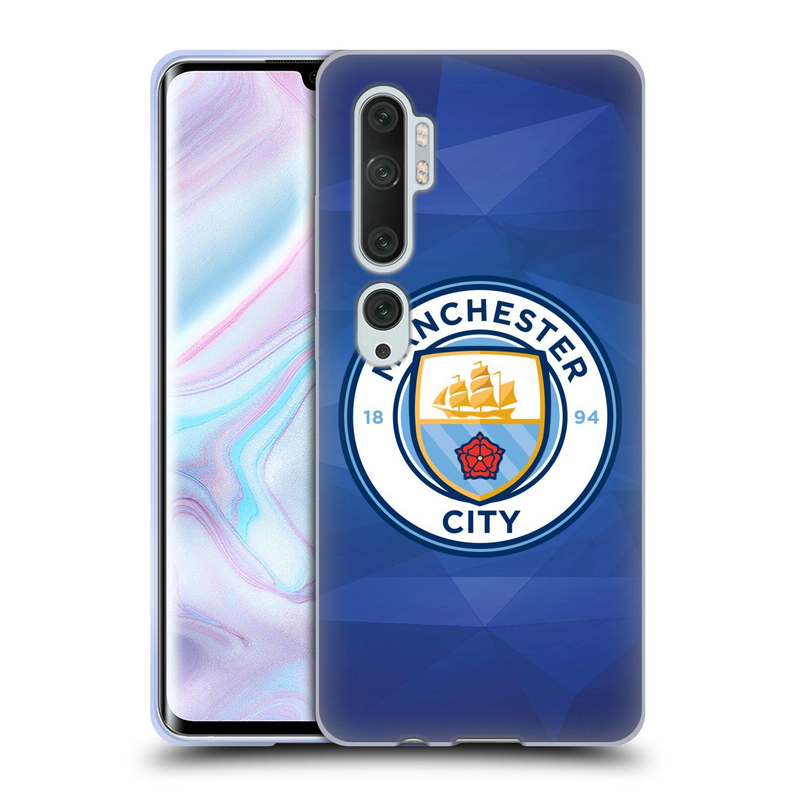 Silikonové pouzdro na mobil Xiaomi Mi Note 10 / 10 Pro - Head Case - Manchester City FC - Modré nové logo