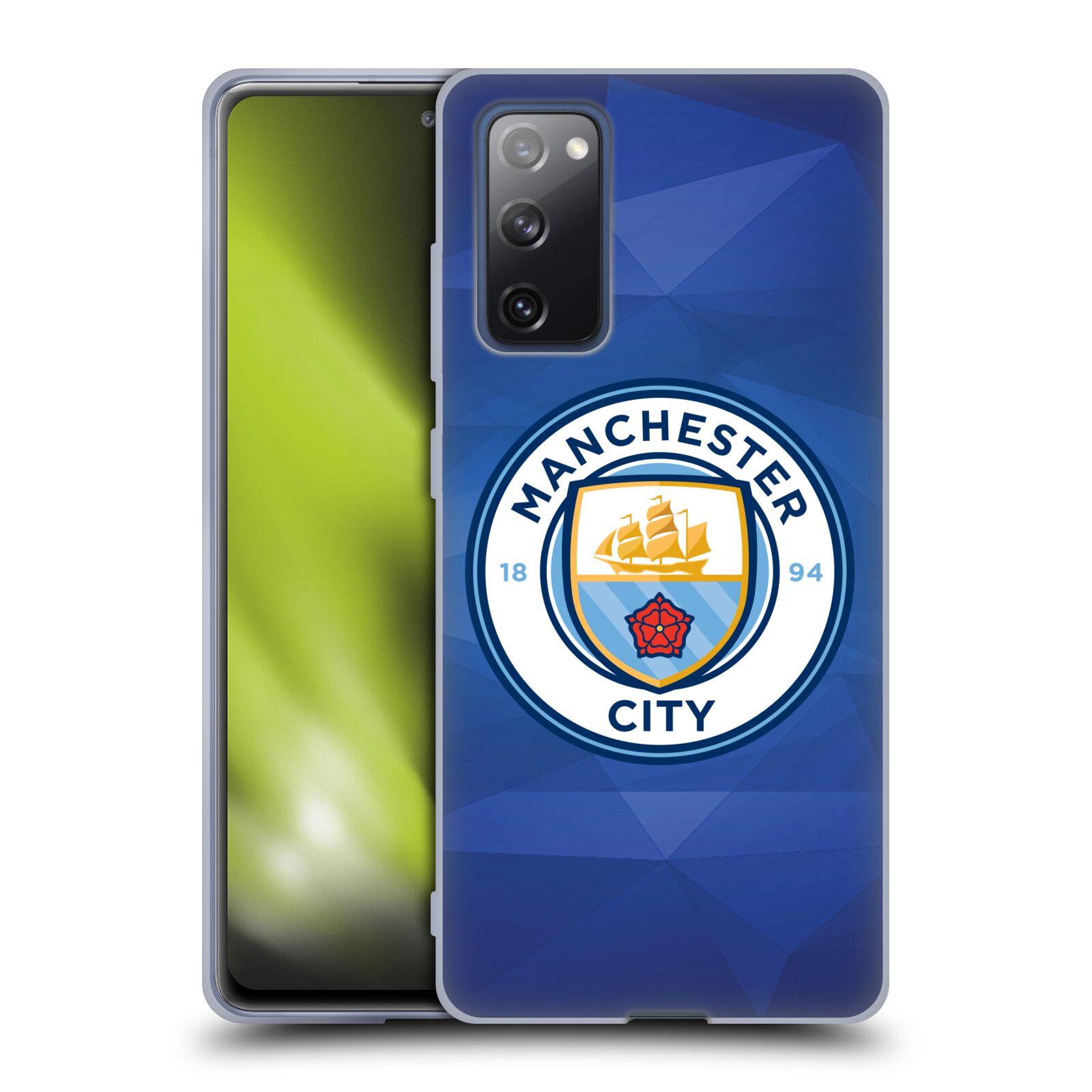 Silikonové pouzdro na mobil Samsung Galaxy S20 FE - Head Case - Manchester City FC - Modré nové logo