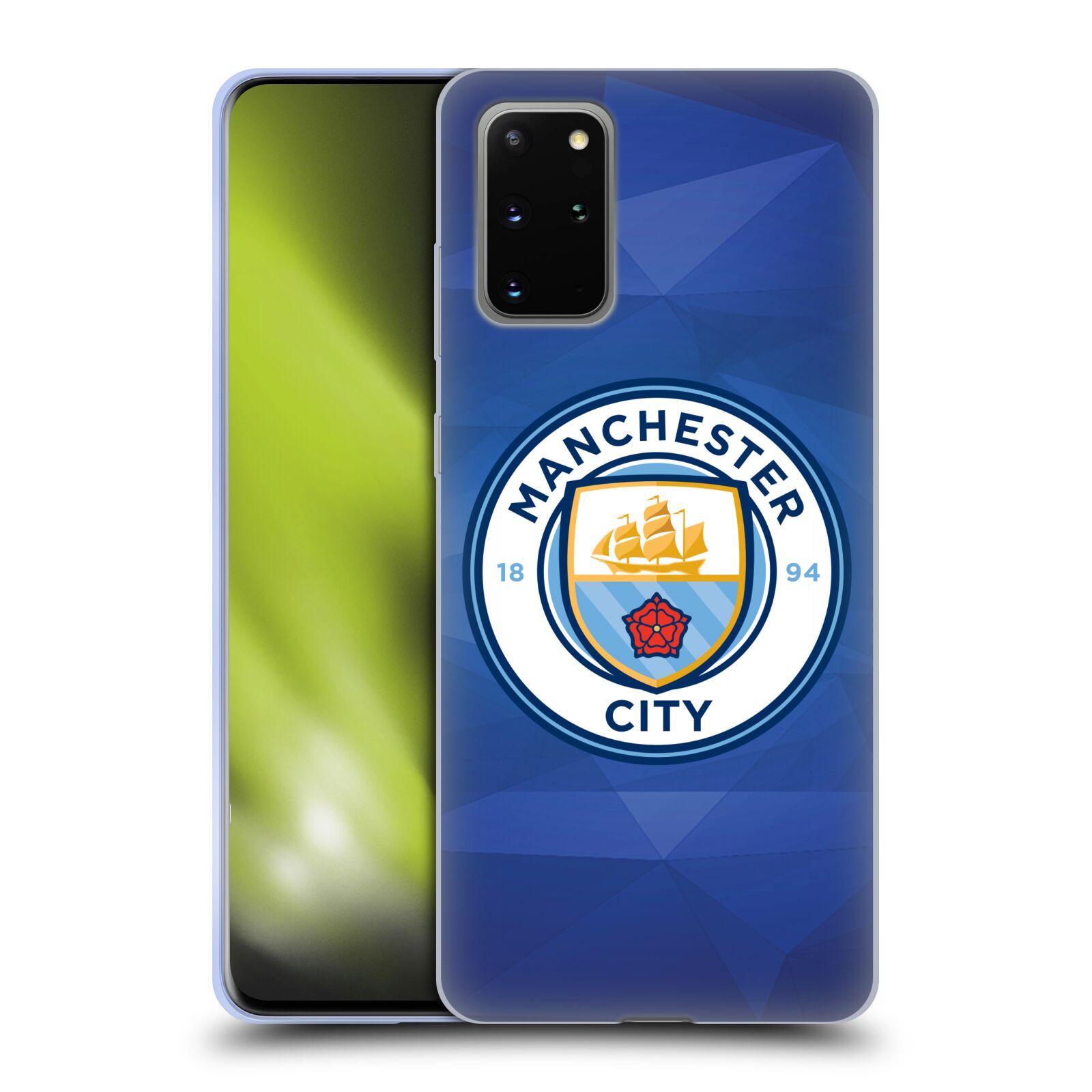 Silikonové pouzdro na mobil Samsung Galaxy S20 Plus - Head Case - Manchester City FC - Modré nové logo