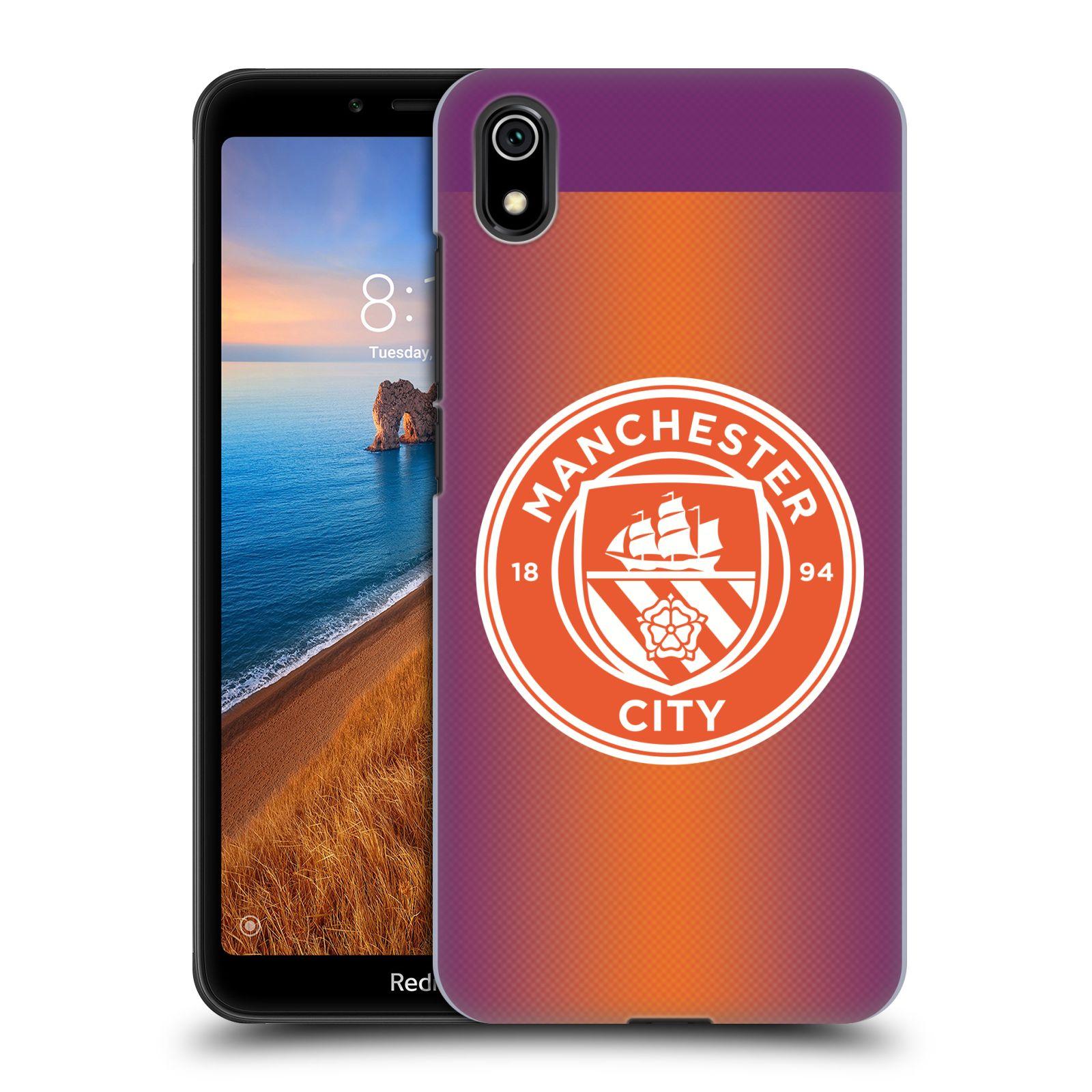 Plastové pouzdro na mobil Xiaomi Redmi 7A - Head Case - Manchester City FC - Oranžové nové logo
