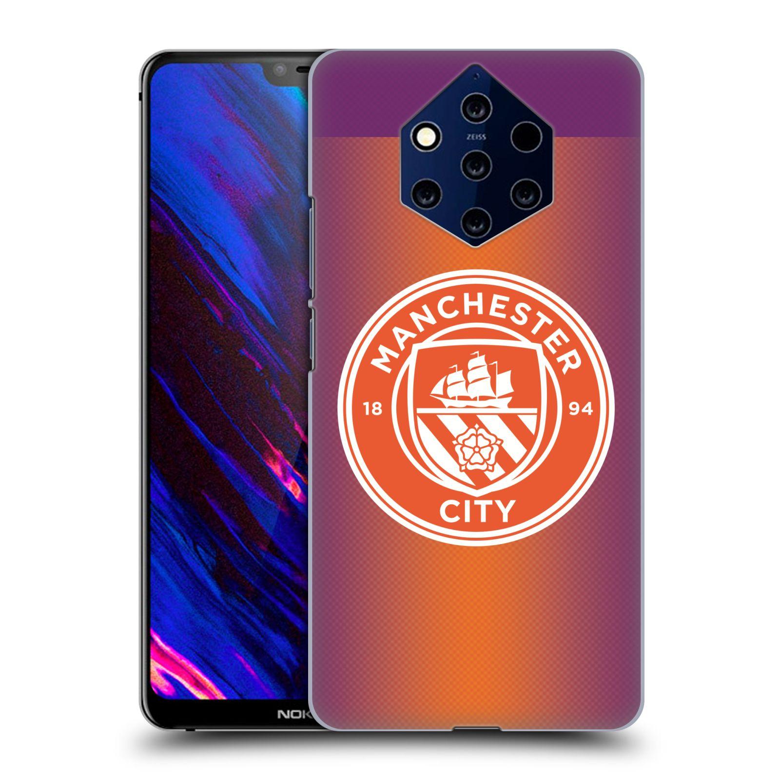 Plastové pouzdro na mobil Nokia 9 PureView - Head Case - Manchester City FC - Oranžové nové logo