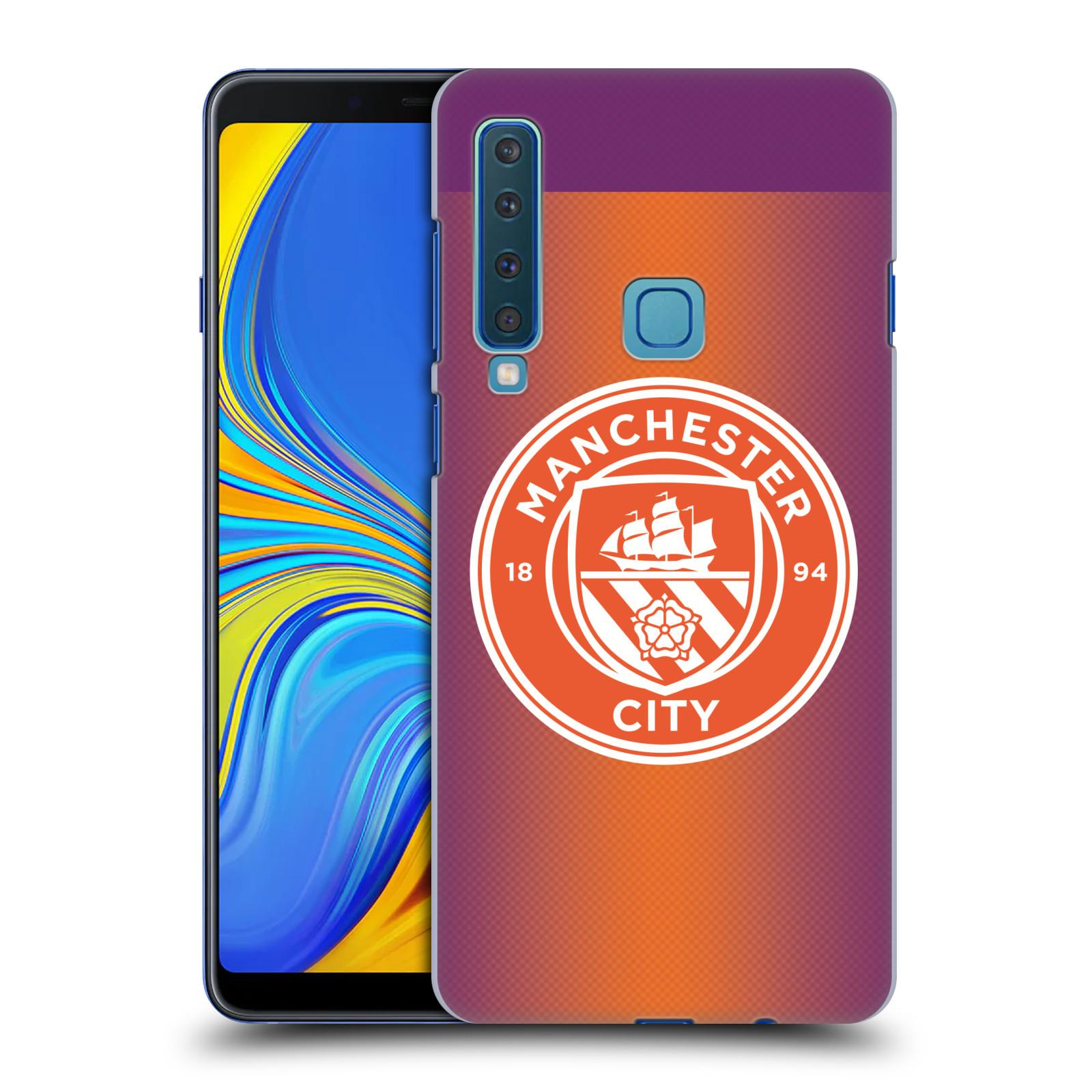 Plastové pouzdro na mobil Samsung Galaxy A9 (2018) - Head Case - Manchester City FC - Oranžové nové logo
