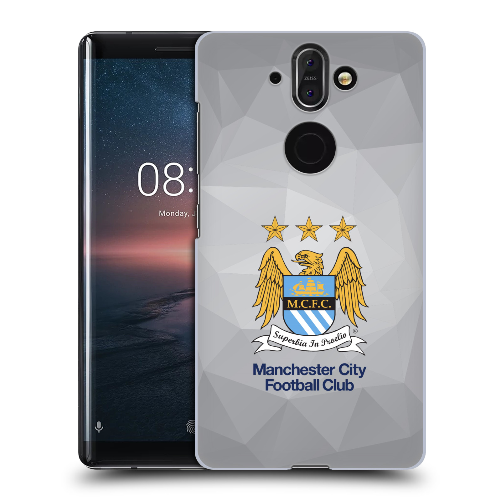 Plastové pouzdro na mobil Nokia 8 Sirocco - Head Case - Manchester City FC - Football Club