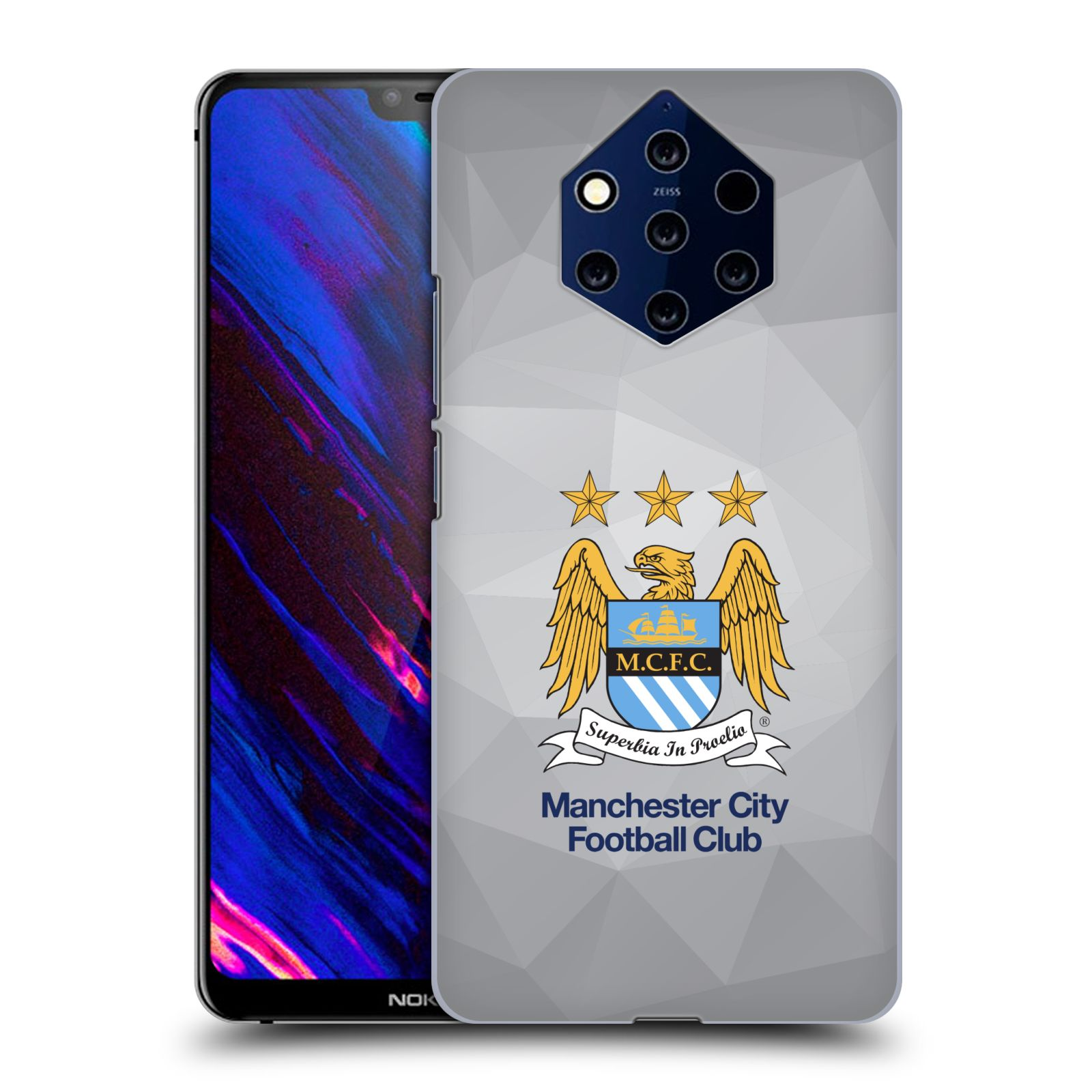 Plastové pouzdro na mobil Nokia 9 PureView - Head Case - Manchester City FC - Football Club