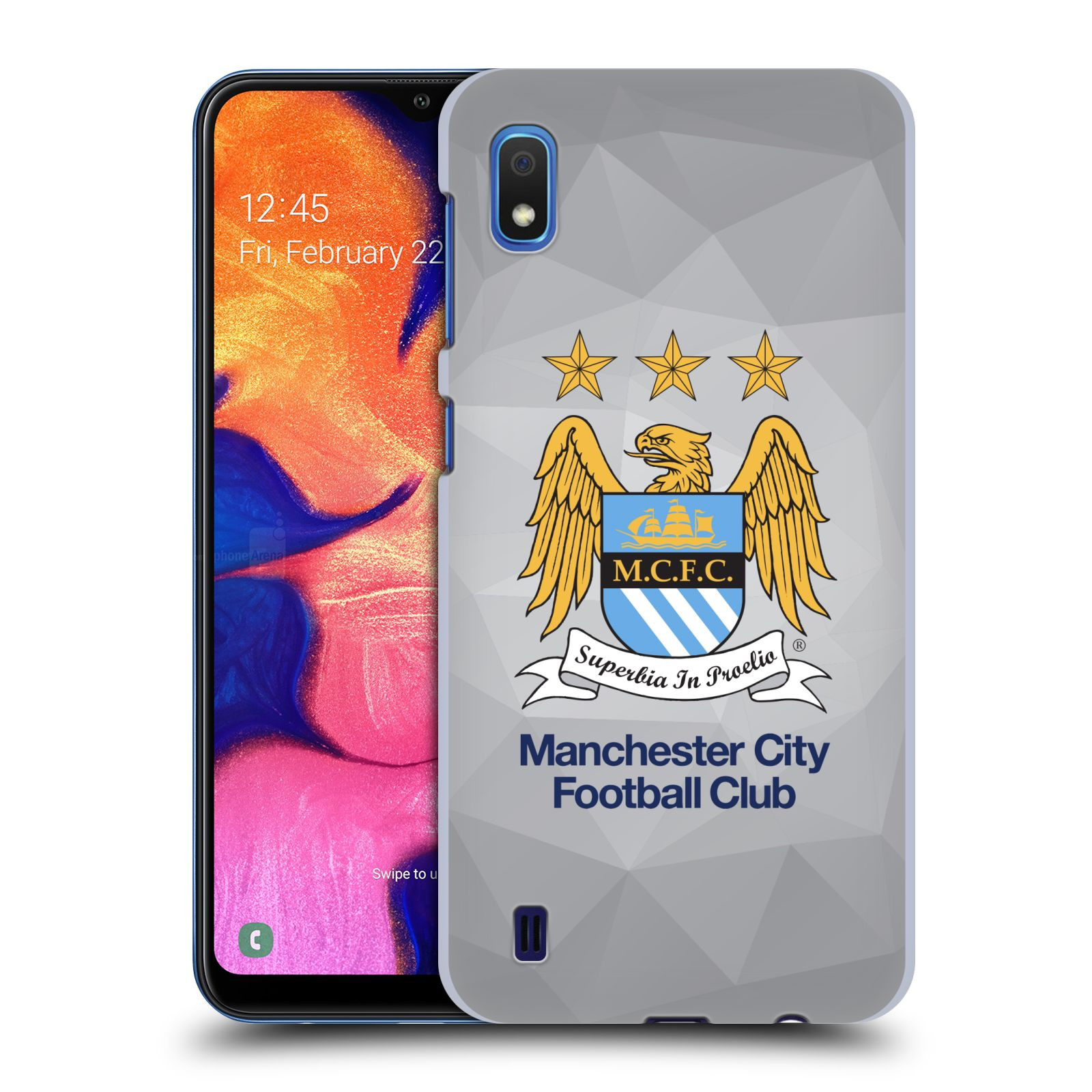 Plastové pouzdro na mobil Samsung Galaxy A10 - Head Case - Manchester City FC - Football Club