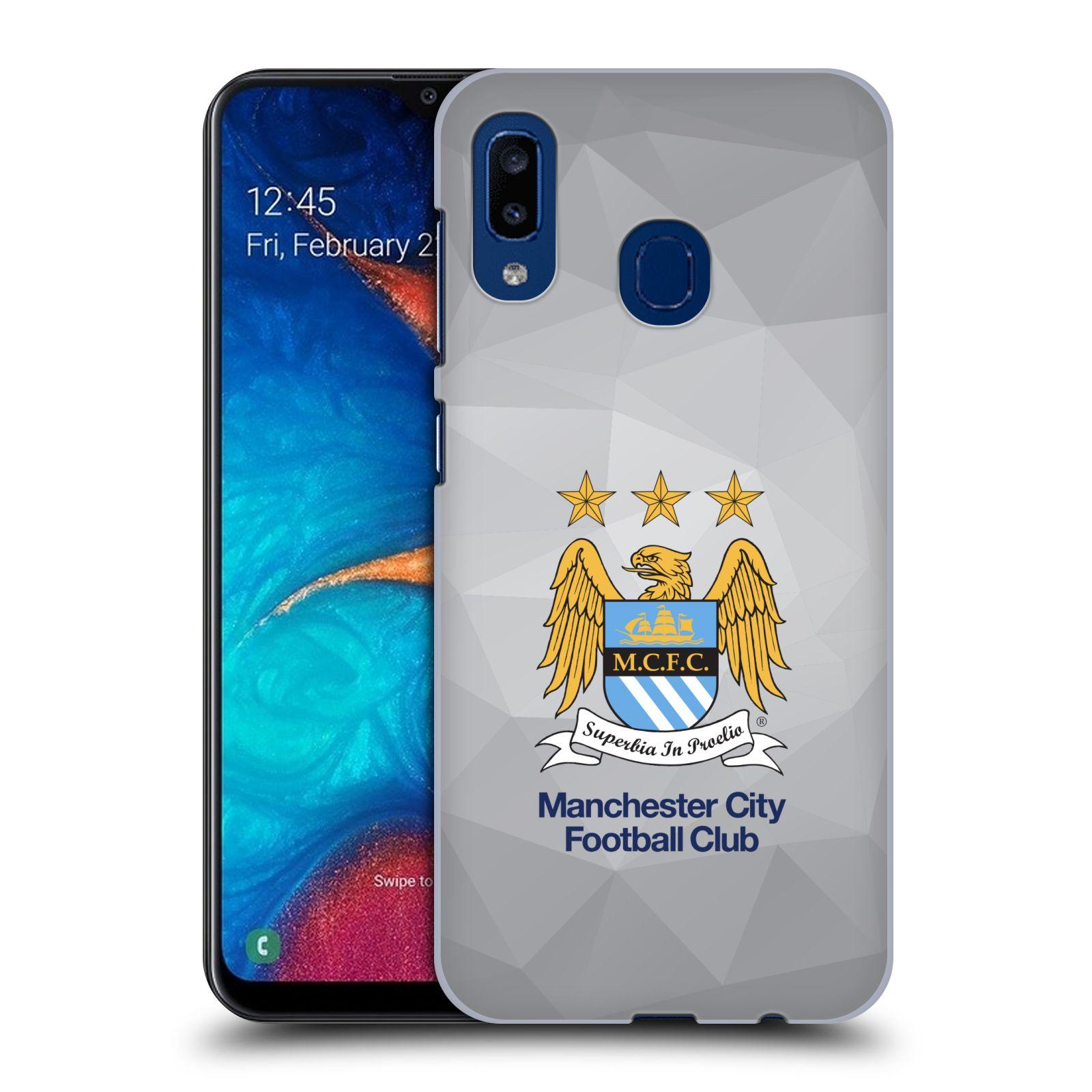 Plastové pouzdro na mobil Samsung Galaxy A20 - Head Case - Manchester City FC - Football Club