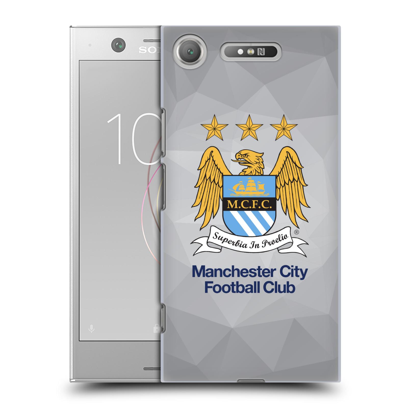 Plastové pouzdro na mobil Sony Xperia XZ1 - Head Case - Manchester City FC - Football Club